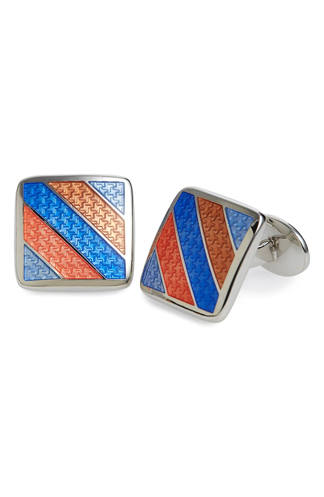 Enamel Cuff Links,                             Main thumbnail 5, color,