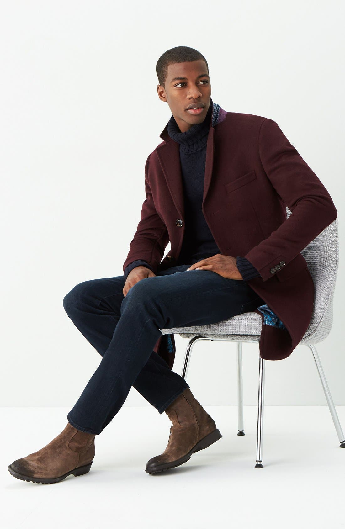 Graduate Slim Straight Leg Jeans,                             Alternate thumbnail 4, color,                             BUNDLED