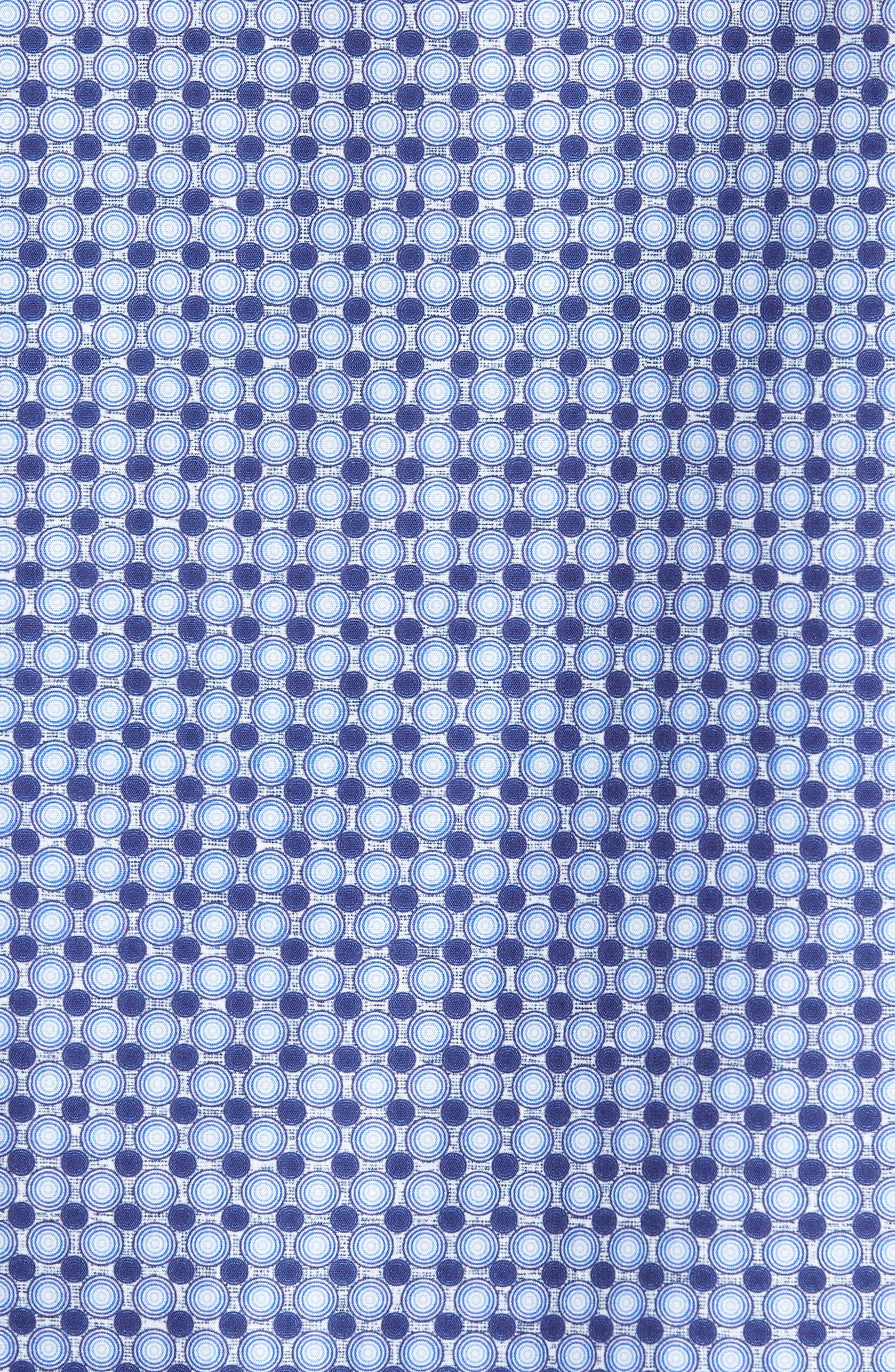 Classic Fit Woven Sport Shirt,                             Alternate thumbnail 5, color,                             411