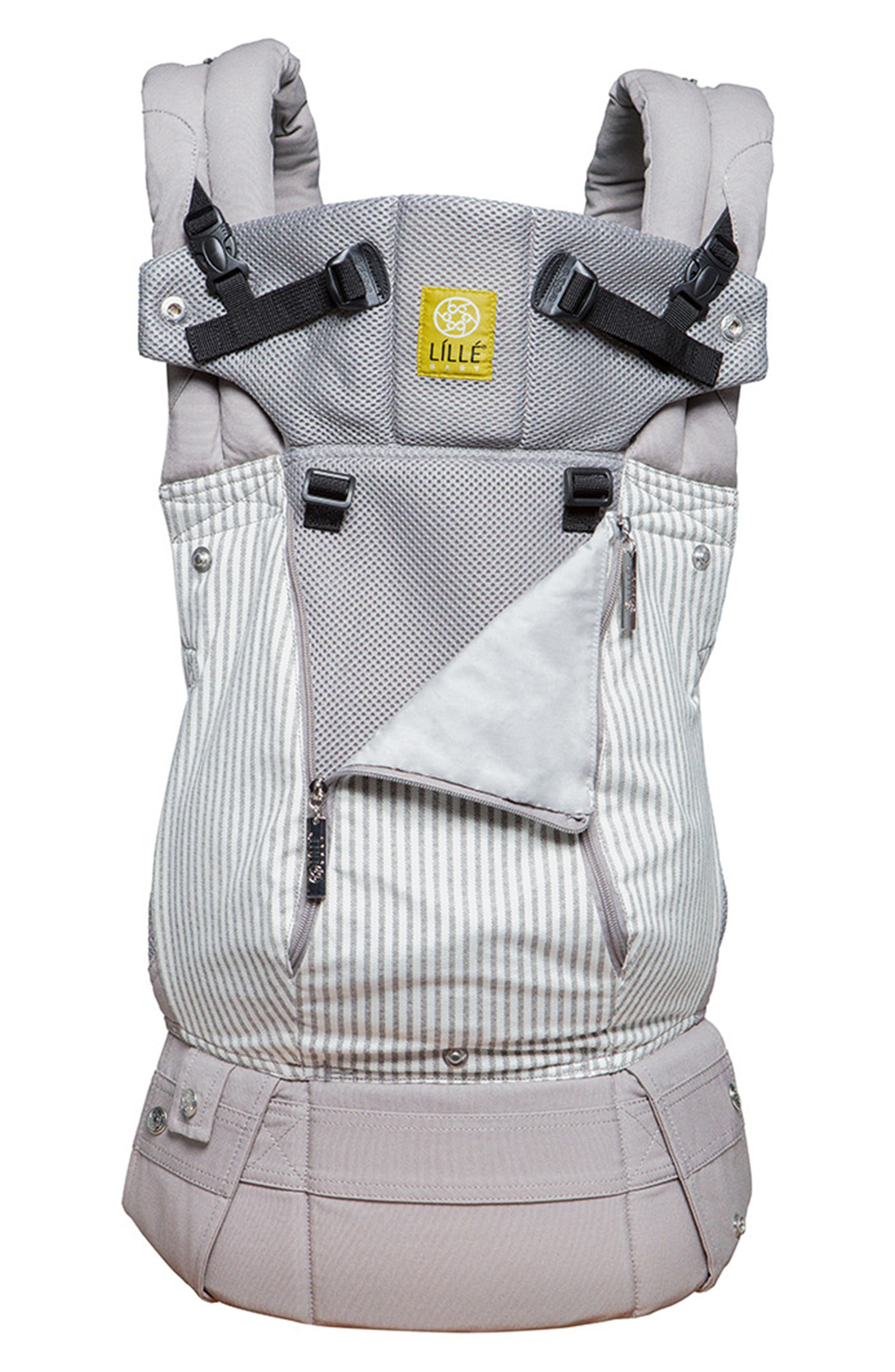LILLEBABY All Seasons - Silver Lining Baby Carrier, Main, color, SILVER LINING