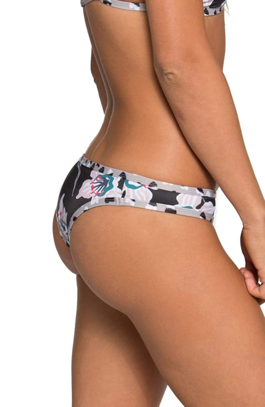 'Jayden' Minimal Coverage Bikini Bottoms,                             Alternate thumbnail 2, color,                             005