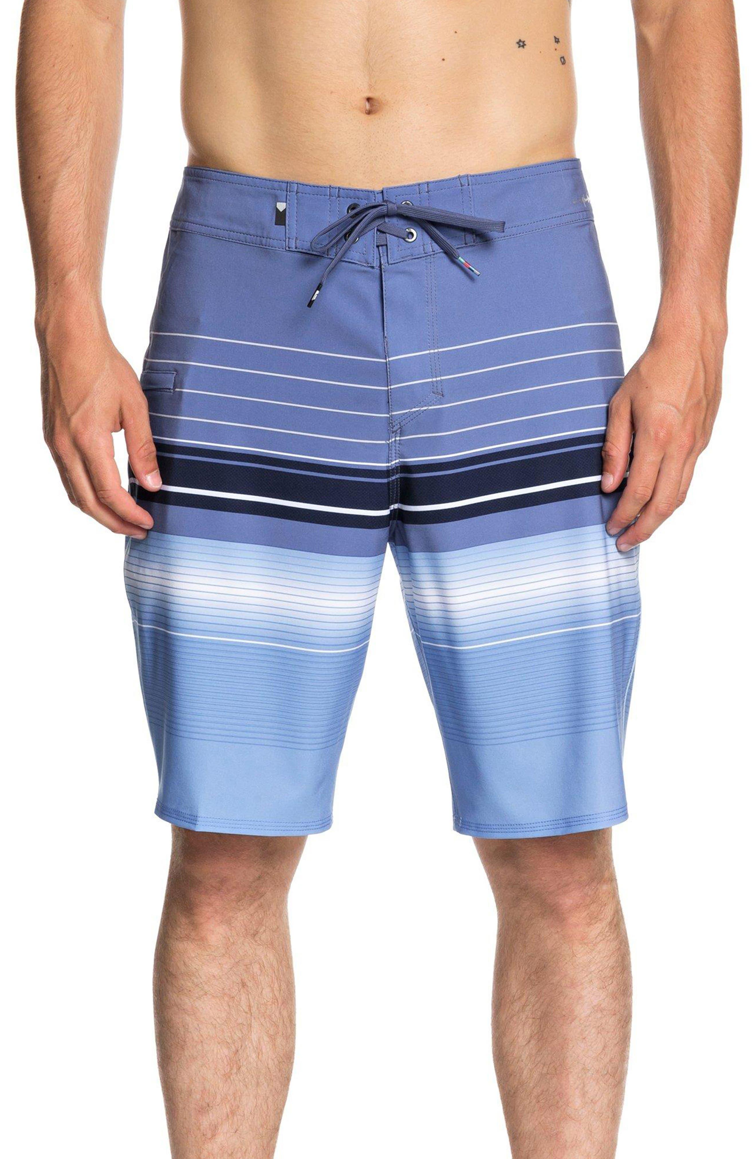 Highline Swell Vision Board Shorts,                         Main,                         color, BIJOU BLUE