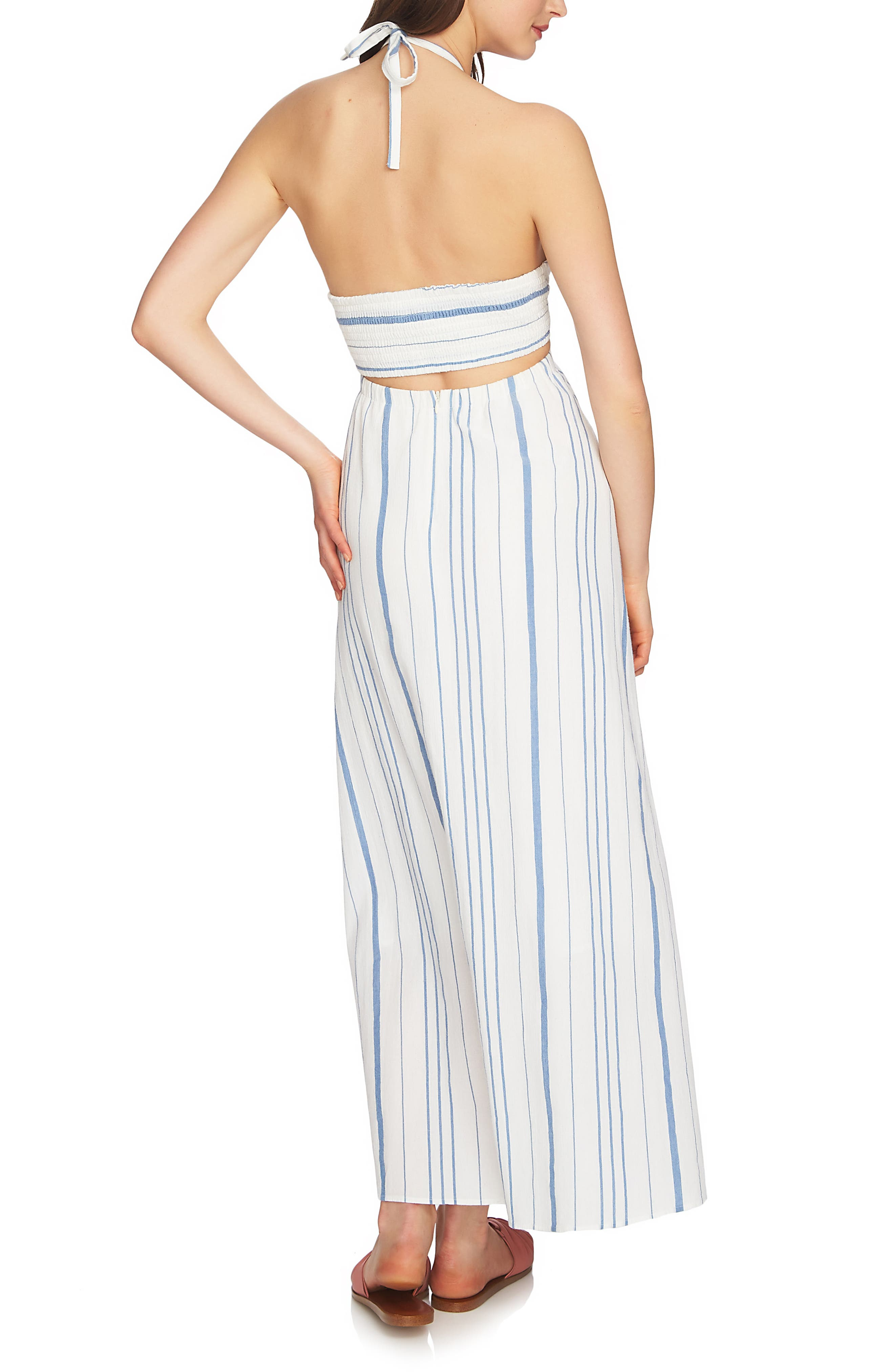 Cinched Bodice Maxi Dress,                             Alternate thumbnail 2, color,                             908