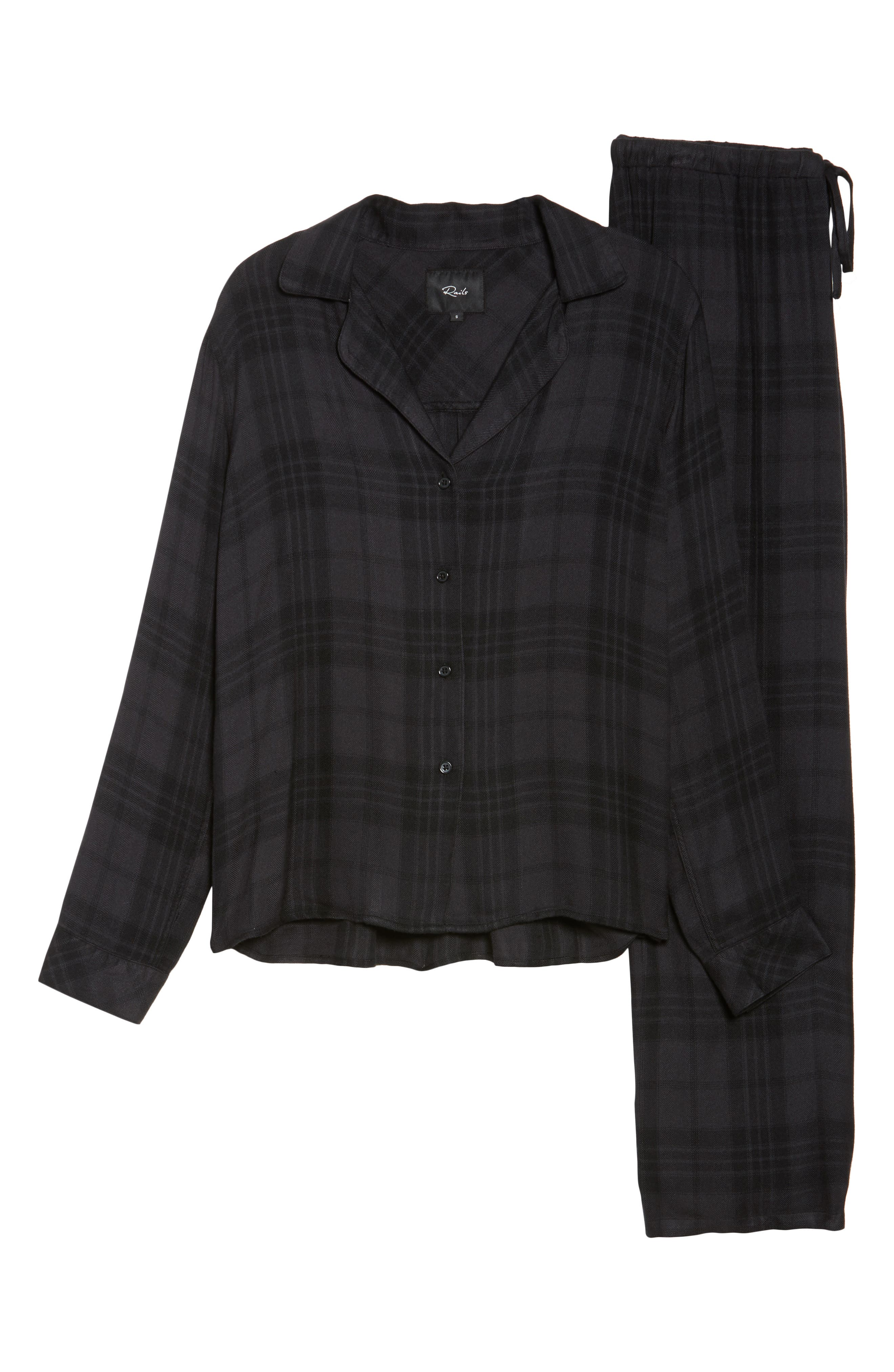 Plaid Pajamas,                             Alternate thumbnail 6, color,                             001