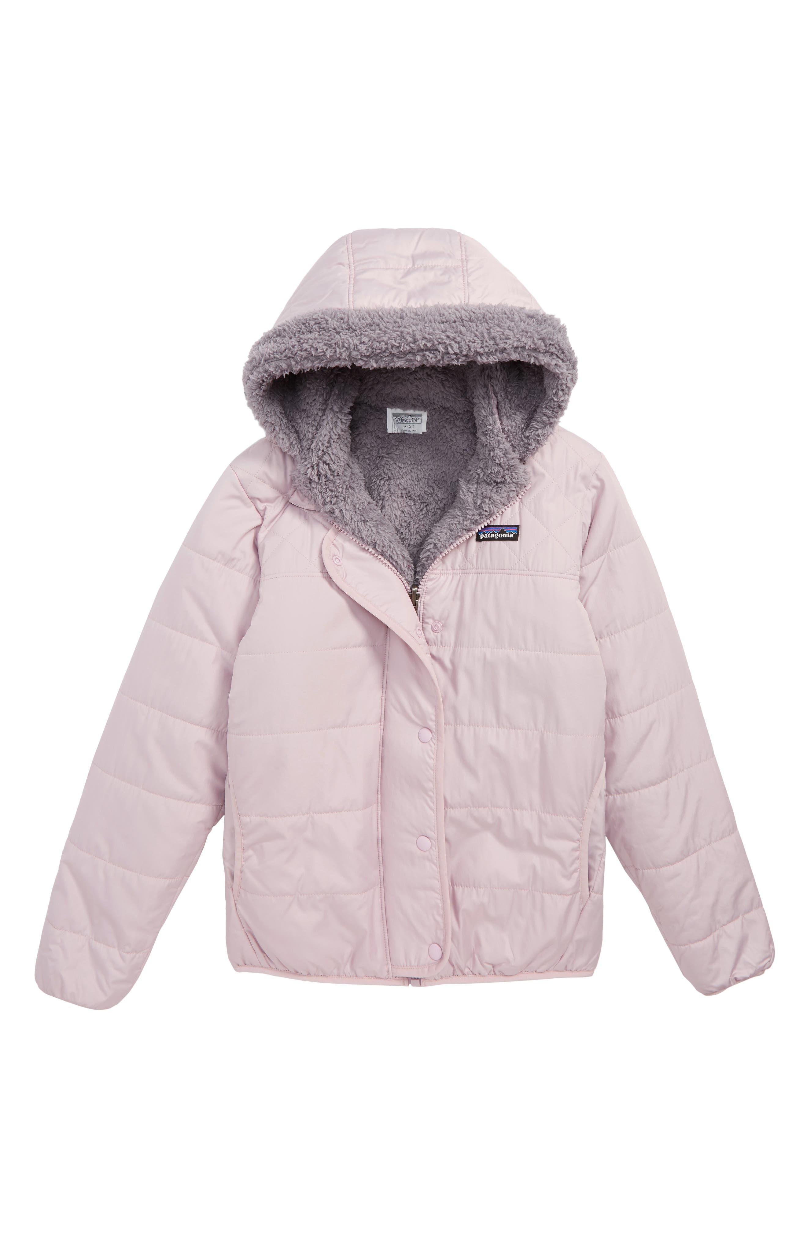 Dream Song Water Repellent Reversible Jacket,                         Main,                         color, GLAZE PURPLE