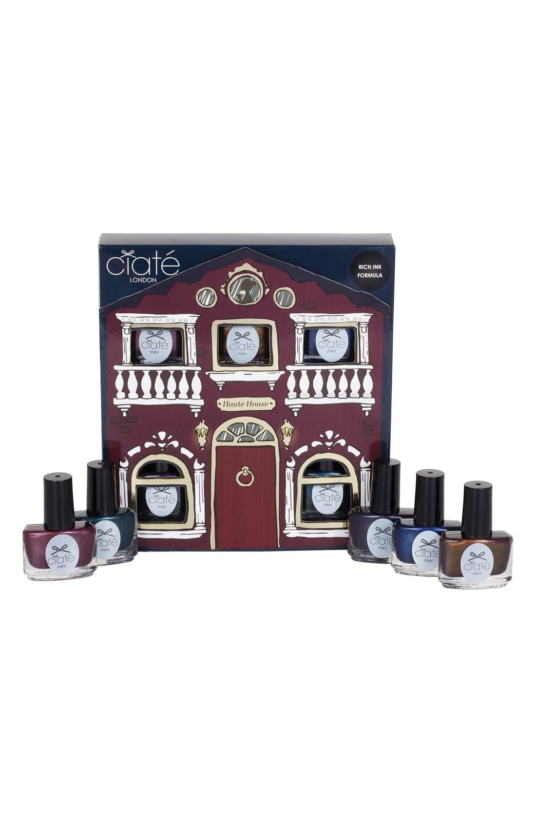 CIATÉ,                             'Haute House' Paint Pot Collection,                             Alternate thumbnail 4, color,                             000