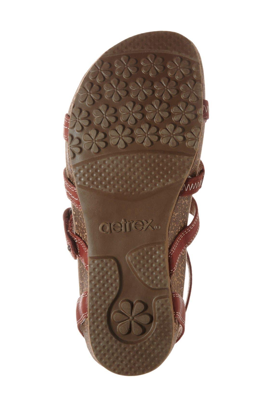 'Natasha' Gladiator Sandal,                             Alternate thumbnail 16, color,