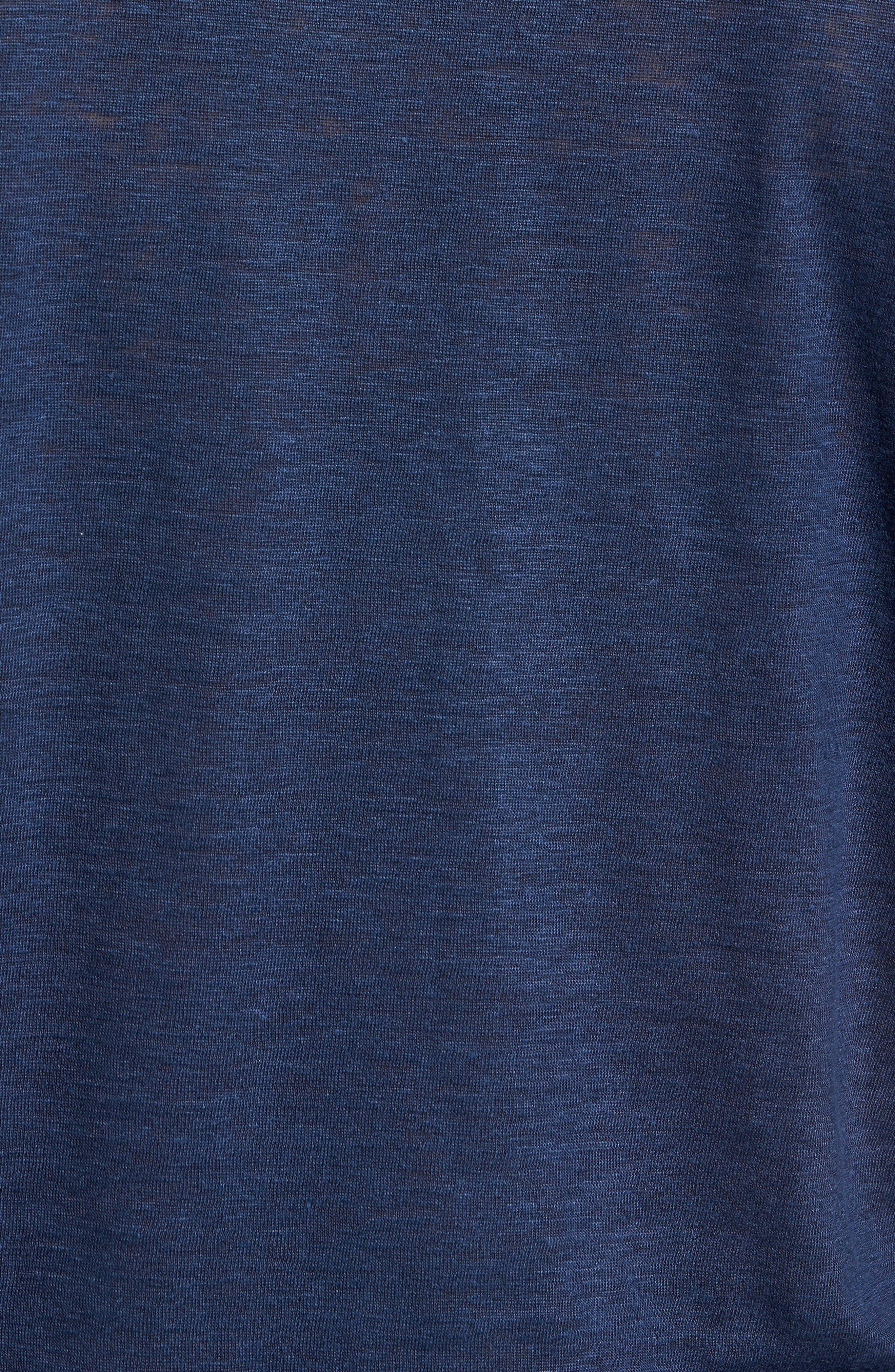 Summertime Linen Polo,                             Alternate thumbnail 5, color,                             BARCHETTA