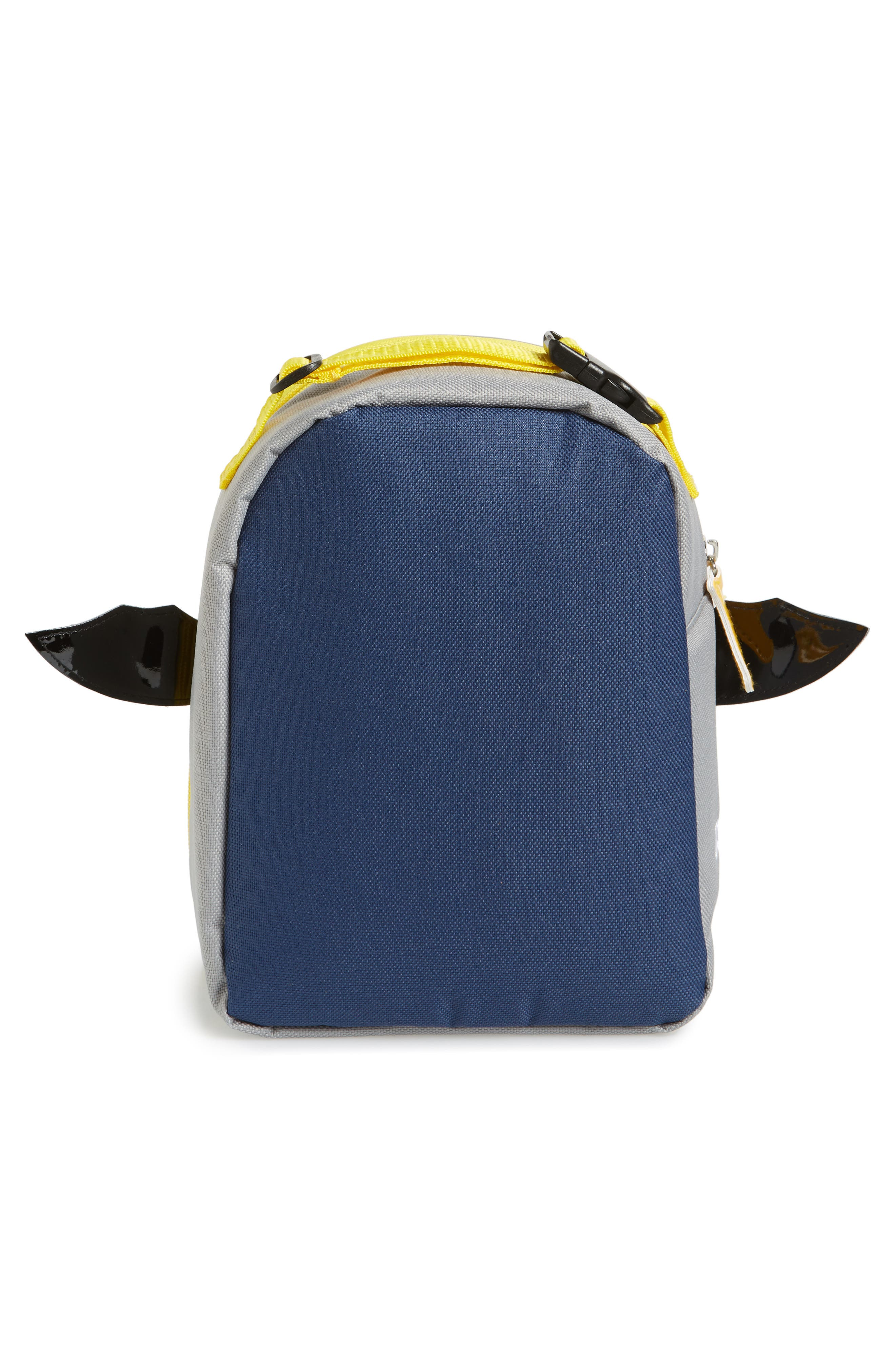 Zoo Lunchie - Bat Insulated Lunch Bag,                             Alternate thumbnail 2, color,                             NAVY BLUE