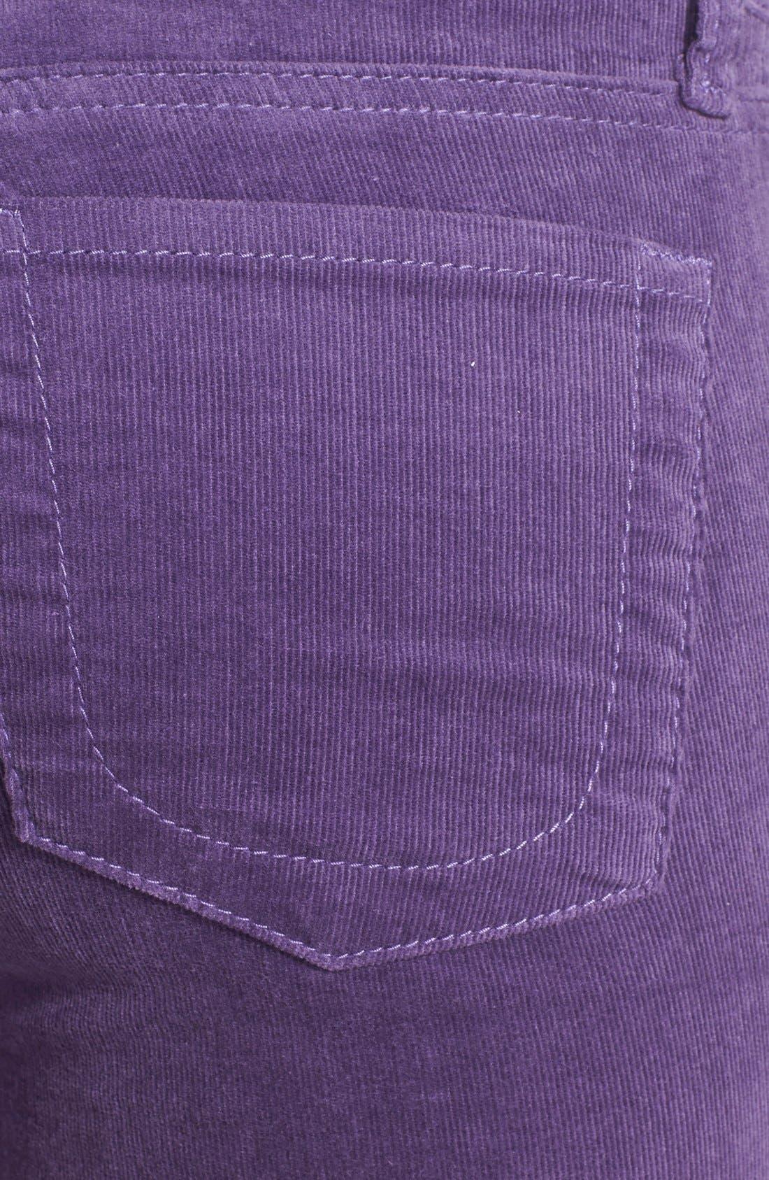 'Diana' Stretch Corduroy Skinny Pants,                             Alternate thumbnail 142, color,