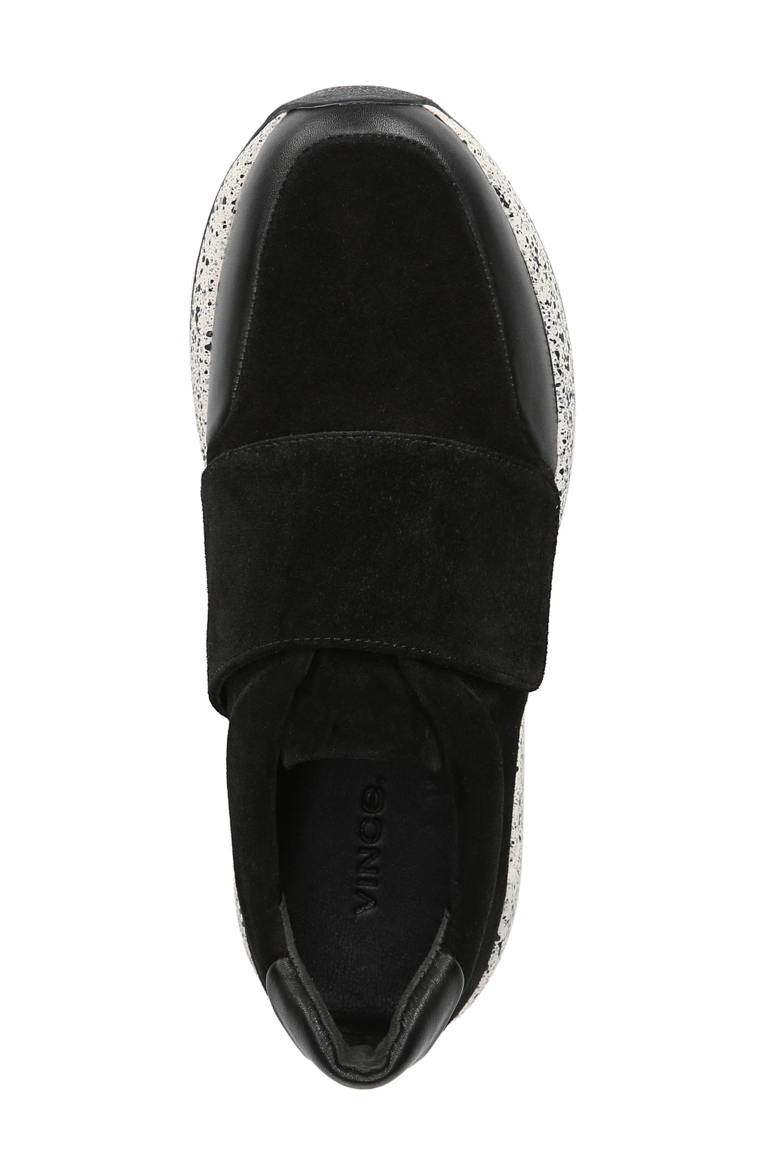 Gage Sneaker,                             Alternate thumbnail 5, color,                             BLACK COCO