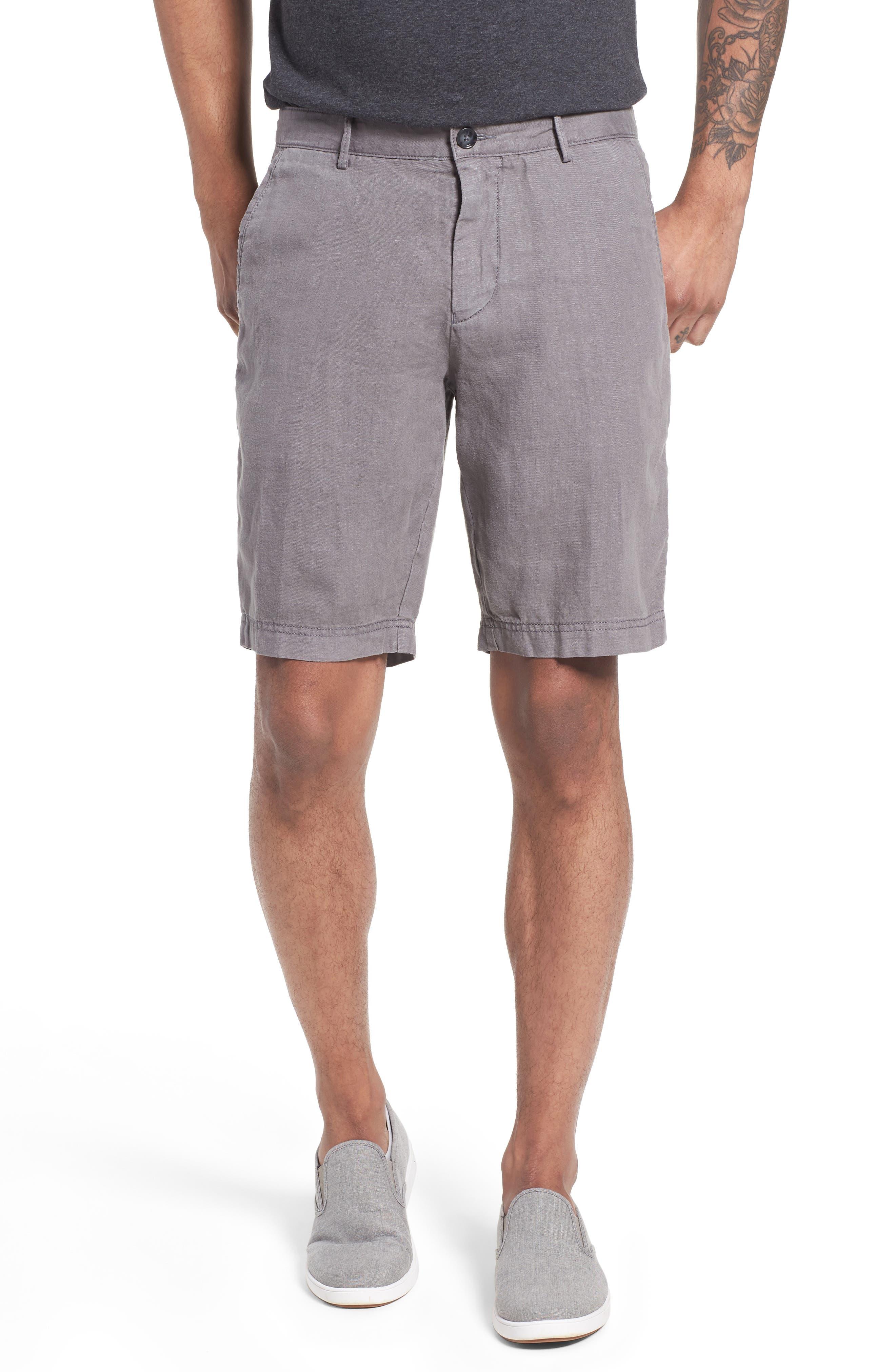 Crigan Linen Shorts,                             Main thumbnail 2, color,