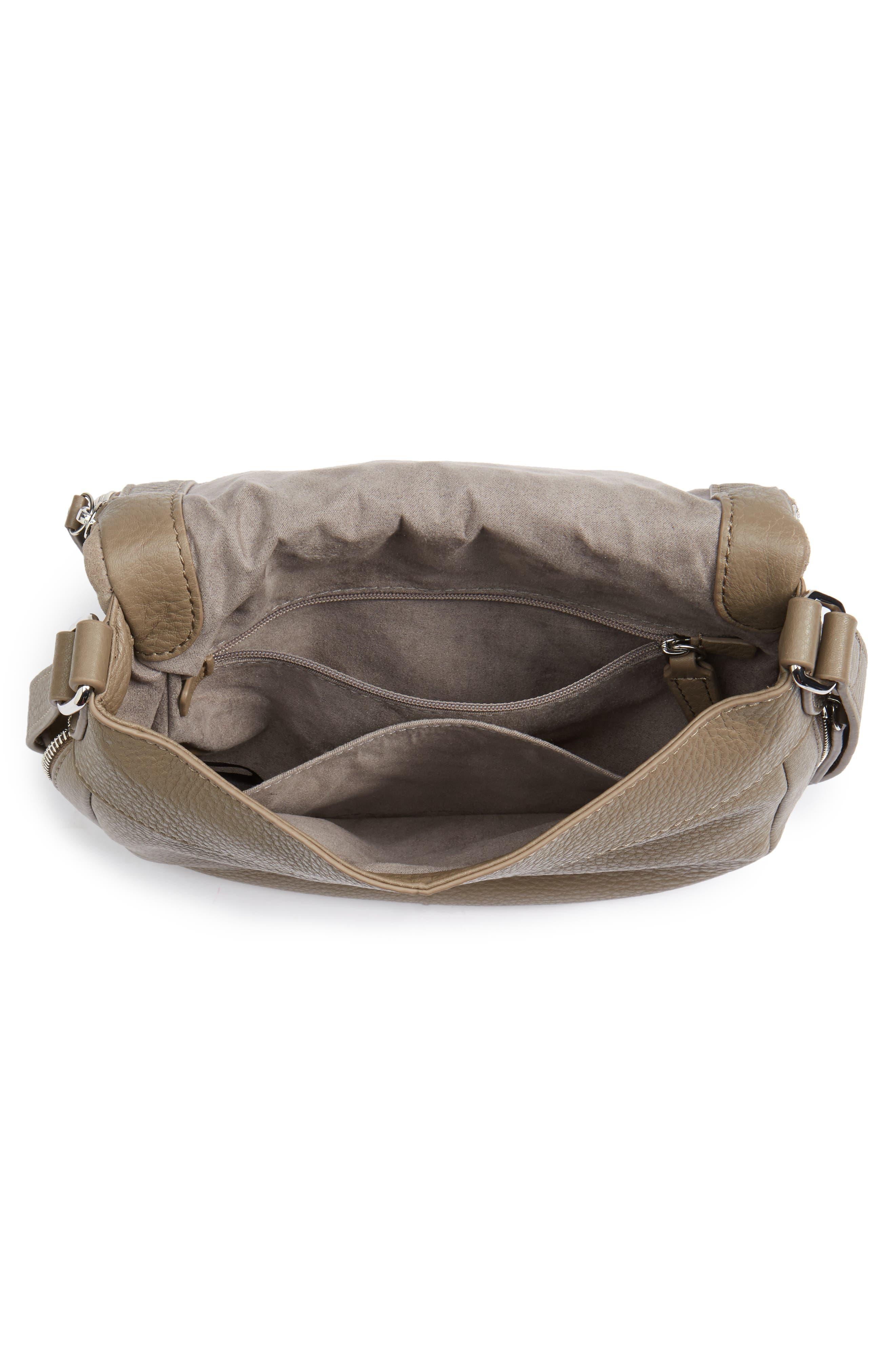 Bonny Studded Leather Crossbody Bag,                             Alternate thumbnail 8, color,