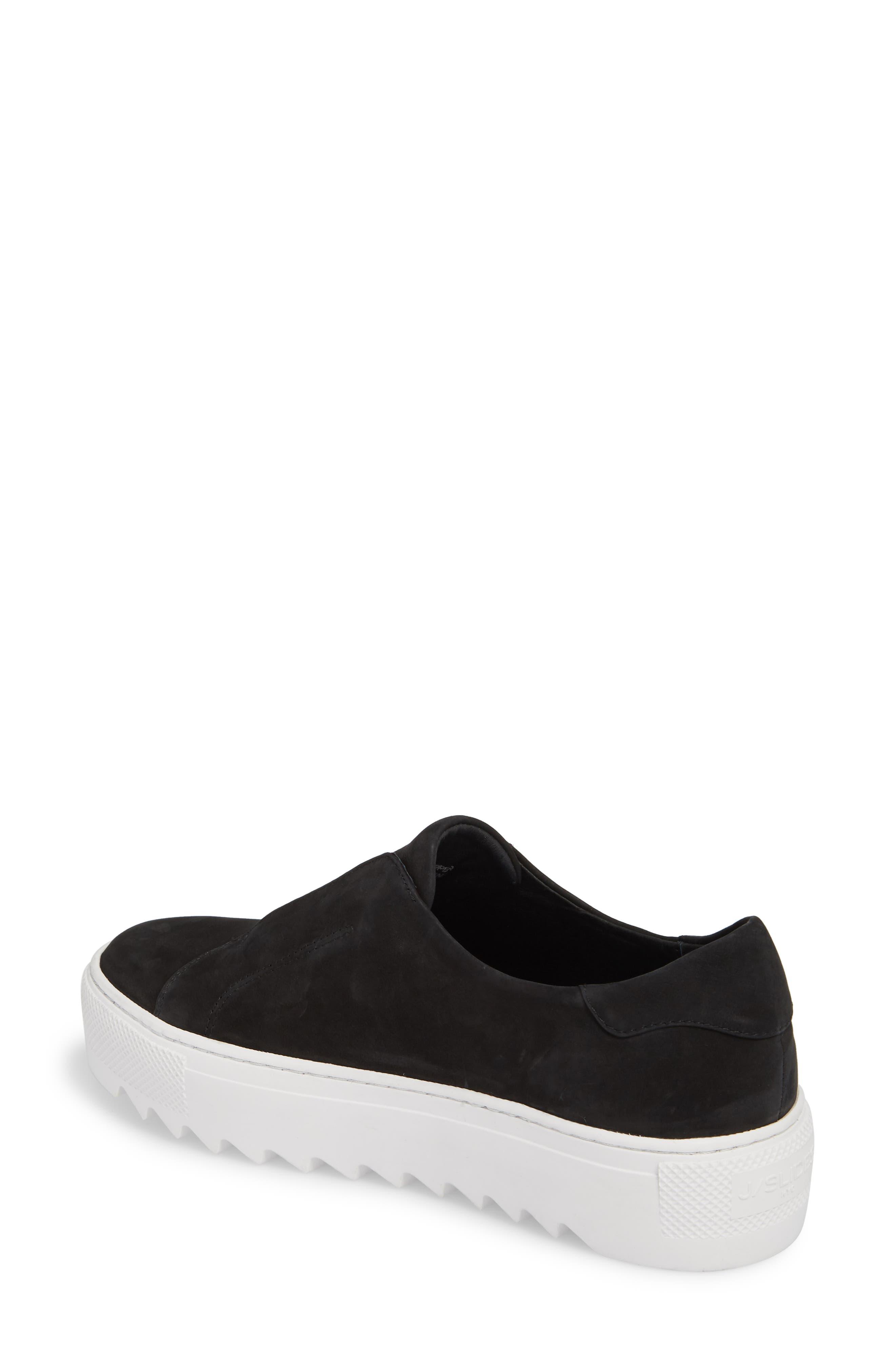 Spazo Slip-On Platform Sneaker,                             Alternate thumbnail 2, color,                             001