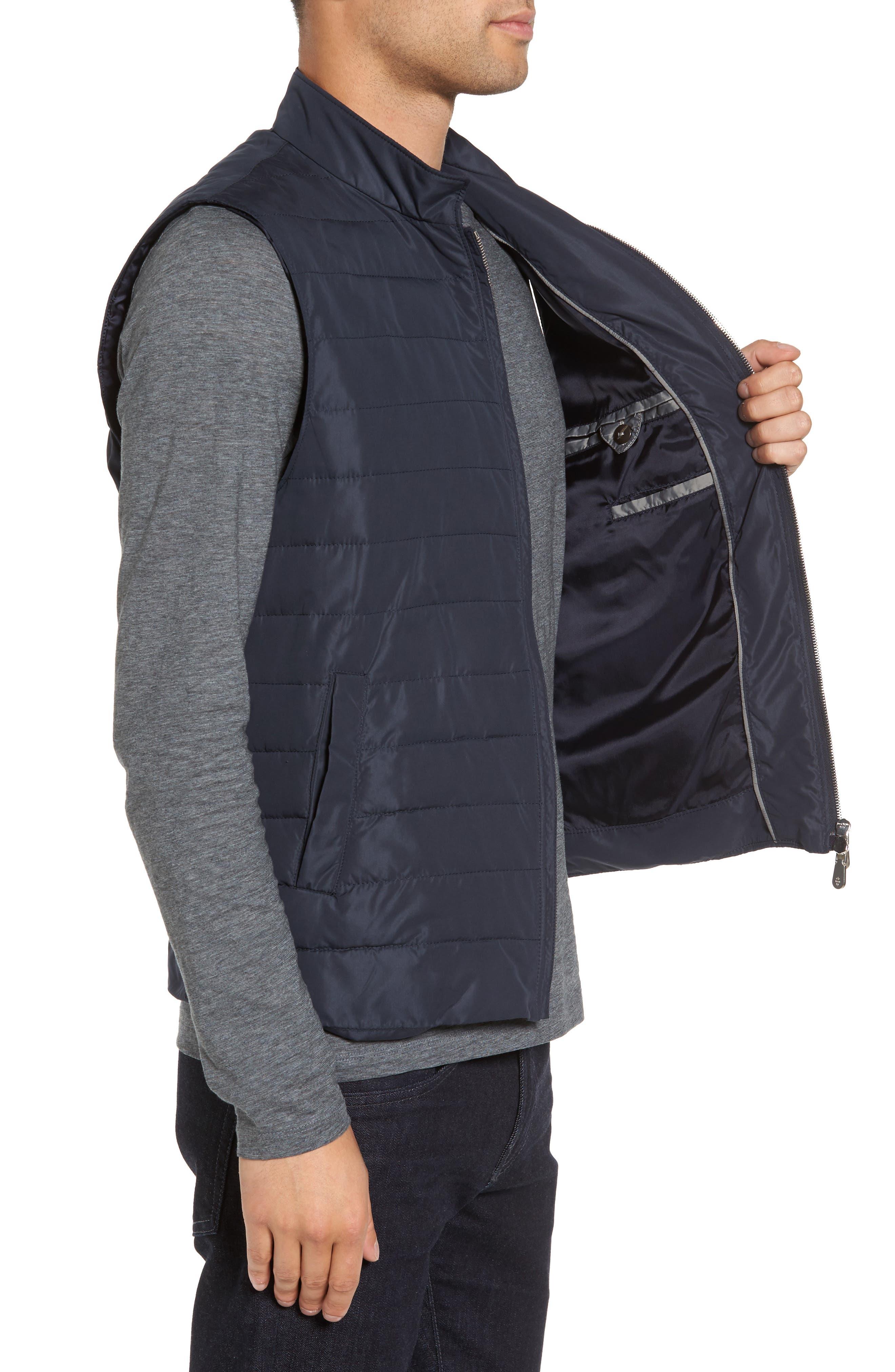 Full Zip Vest,                             Alternate thumbnail 3, color,                             NAVY