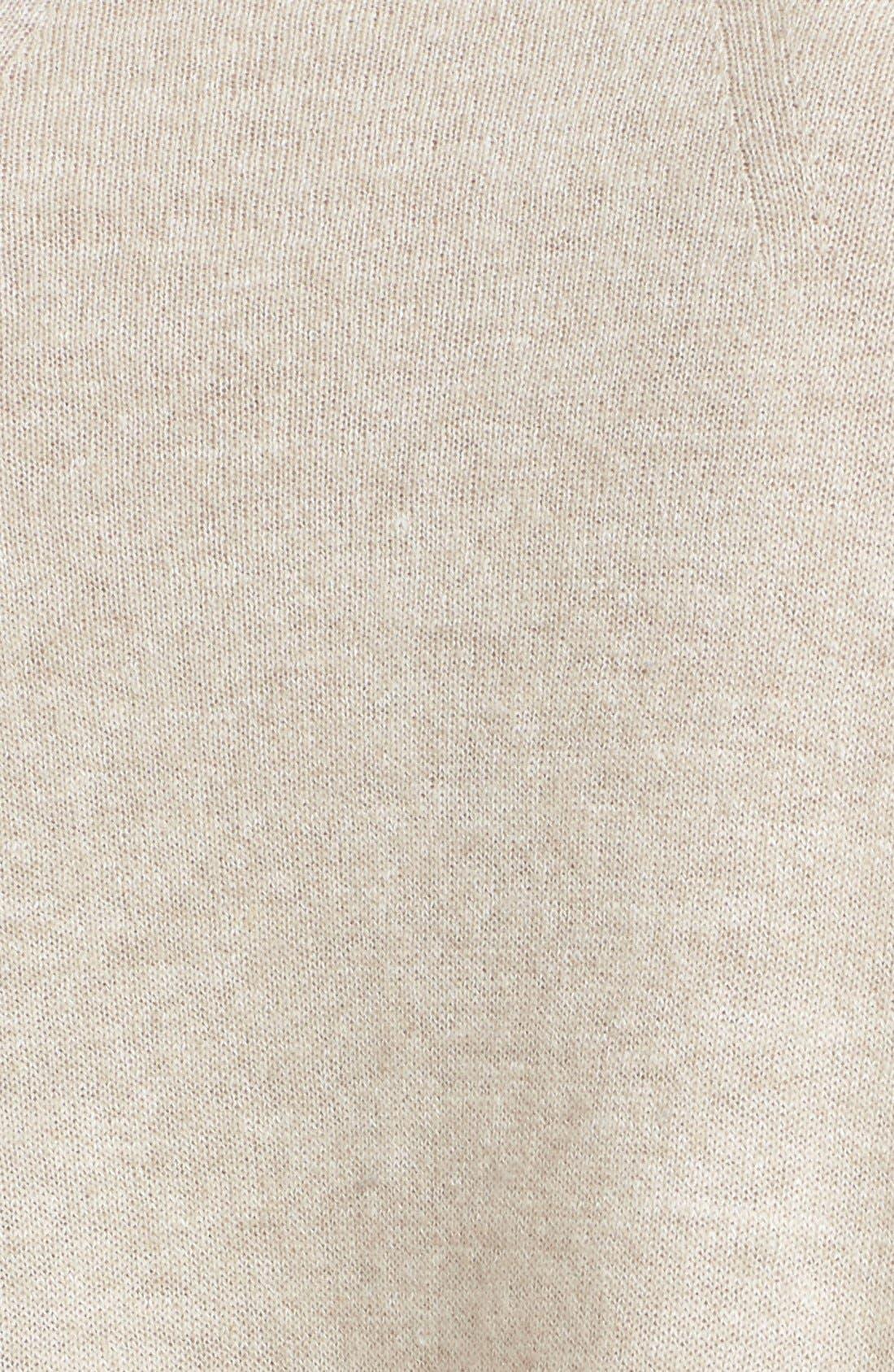 Linen & Cashmere Pullover,                             Alternate thumbnail 5, color,                             280