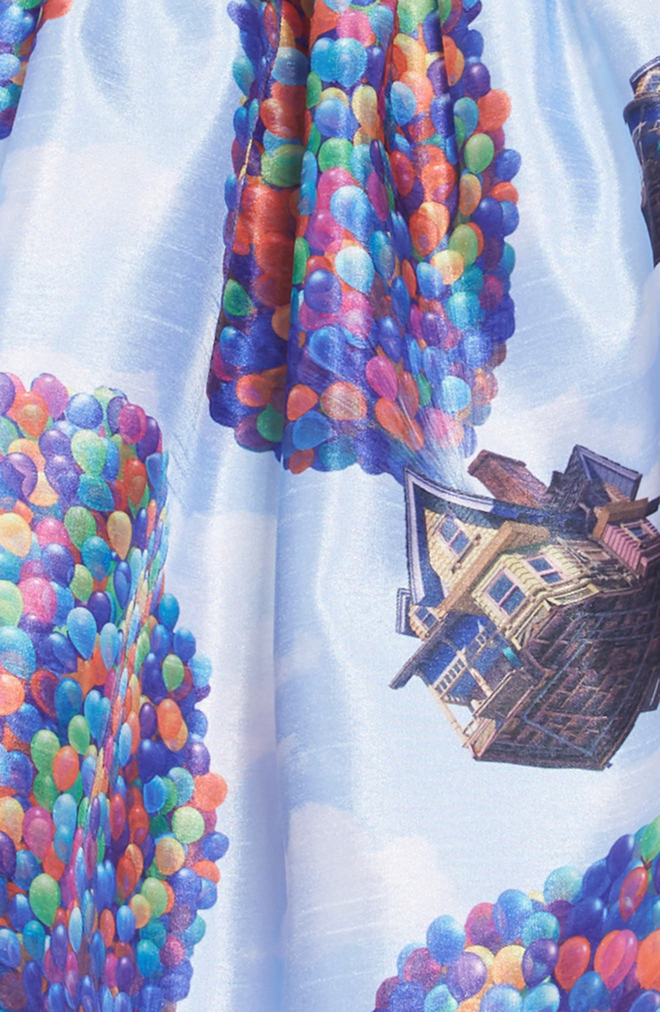PIPPA & JULIE,                             x Disney<sup>®</sup> Up House Fit & Flare Dress,                             Alternate thumbnail 4, color,                             BLUE