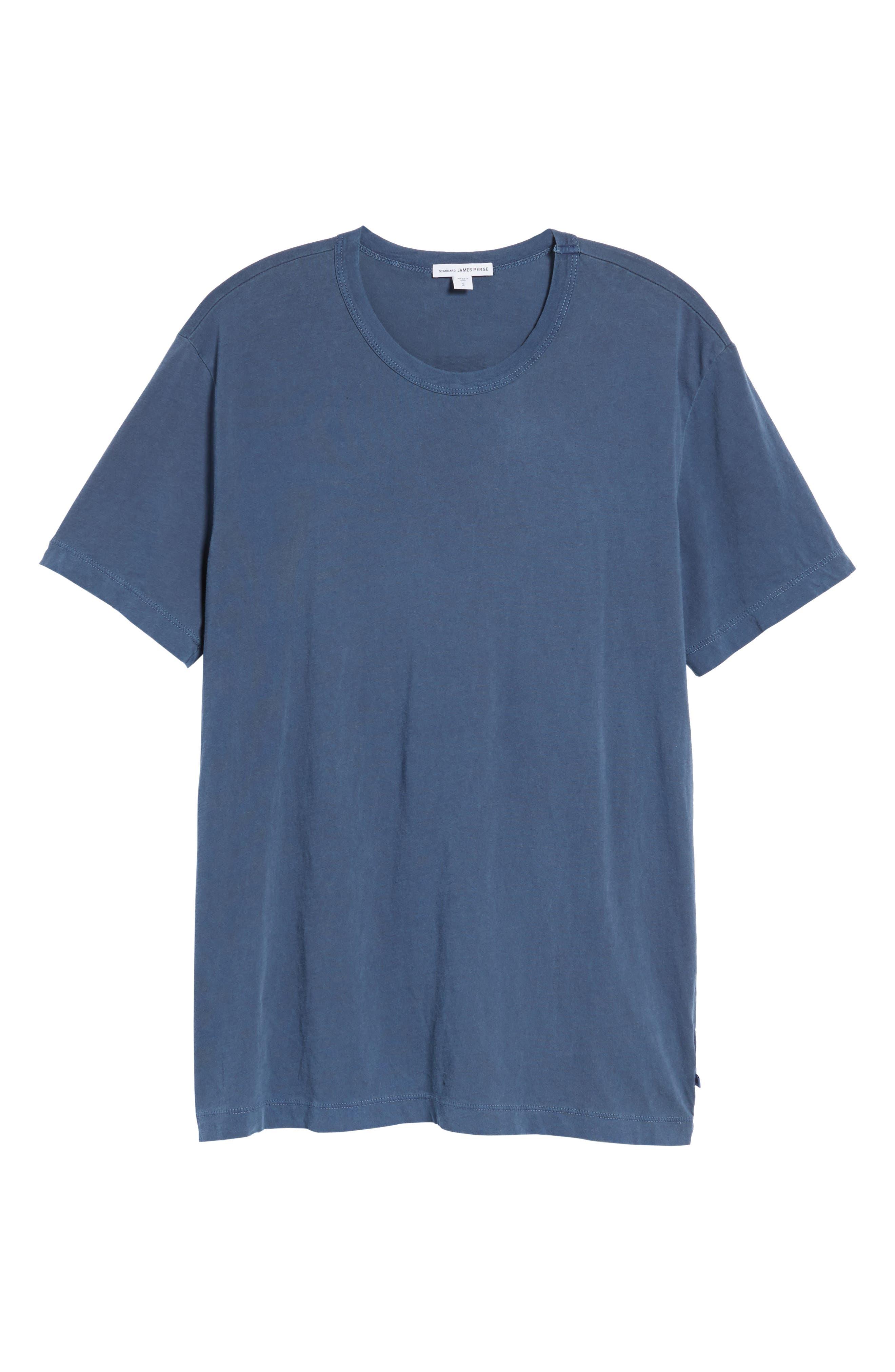 Checkerboard Crewneck T-Shirt,                             Alternate thumbnail 18, color,