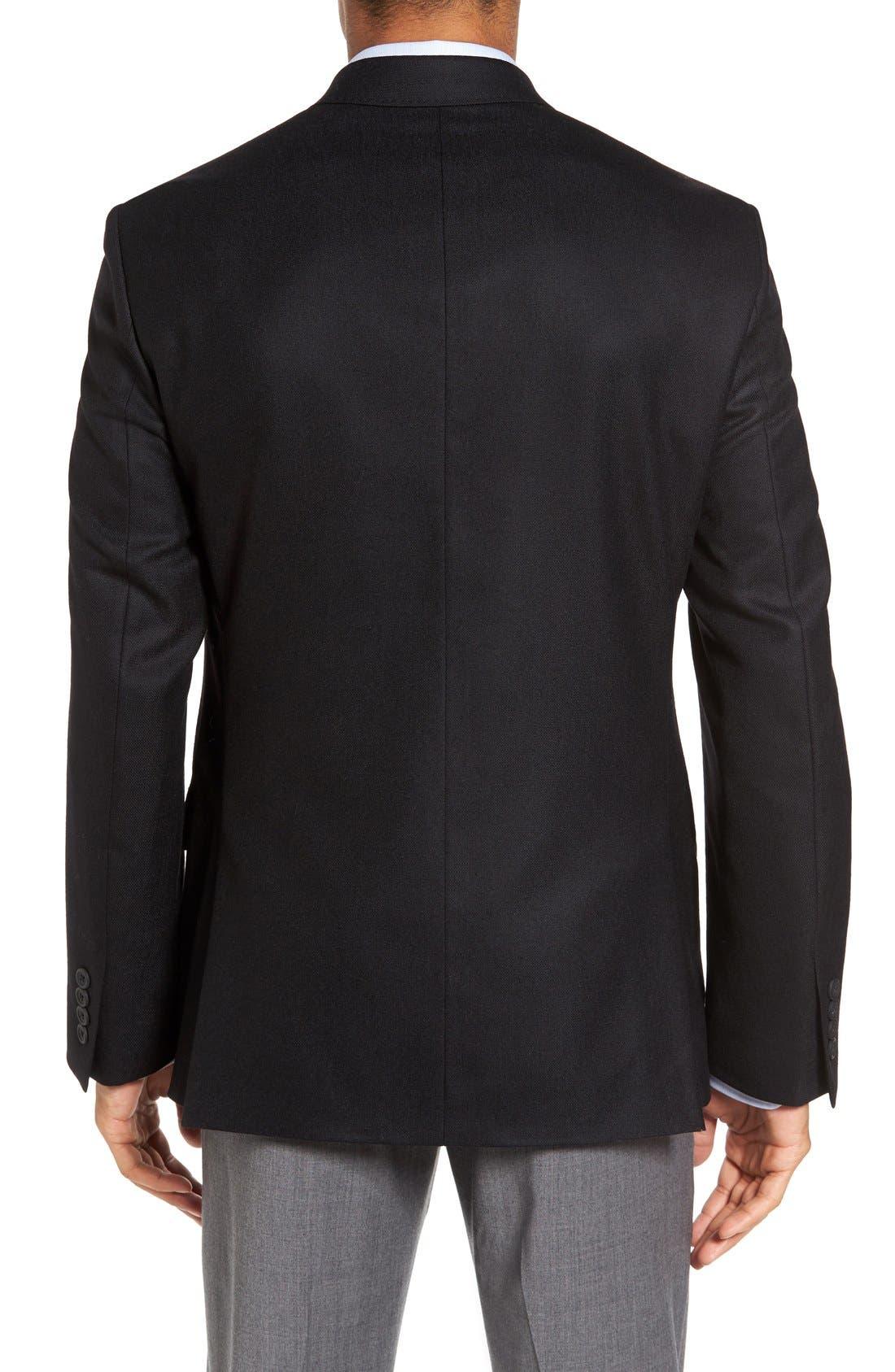 Classic Fit Wool & Cashmere Blazer,                             Alternate thumbnail 2, color,                             001