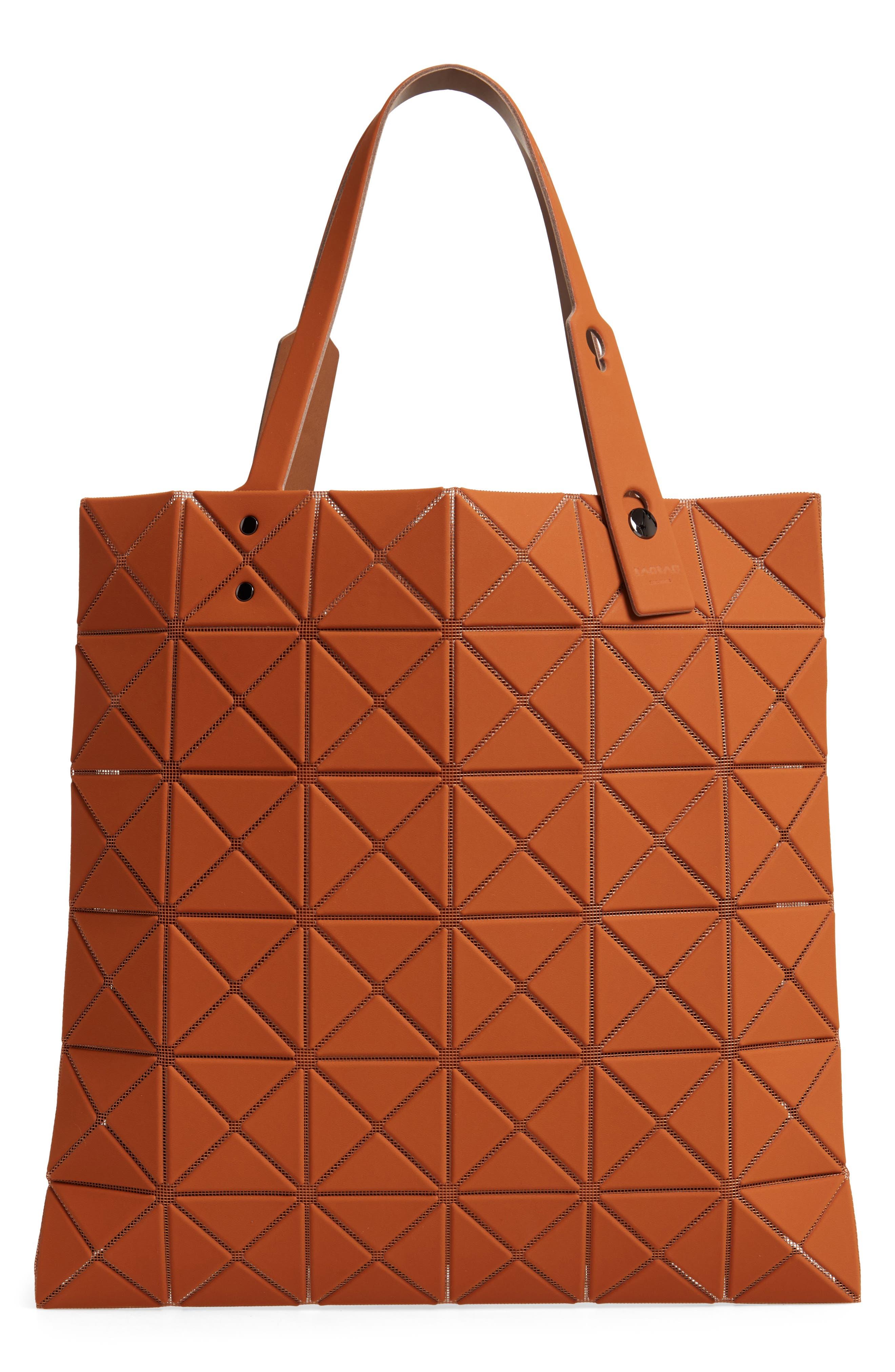 Lucent Prism Tote Bag,                             Alternate thumbnail 3, color,                             CAMEL