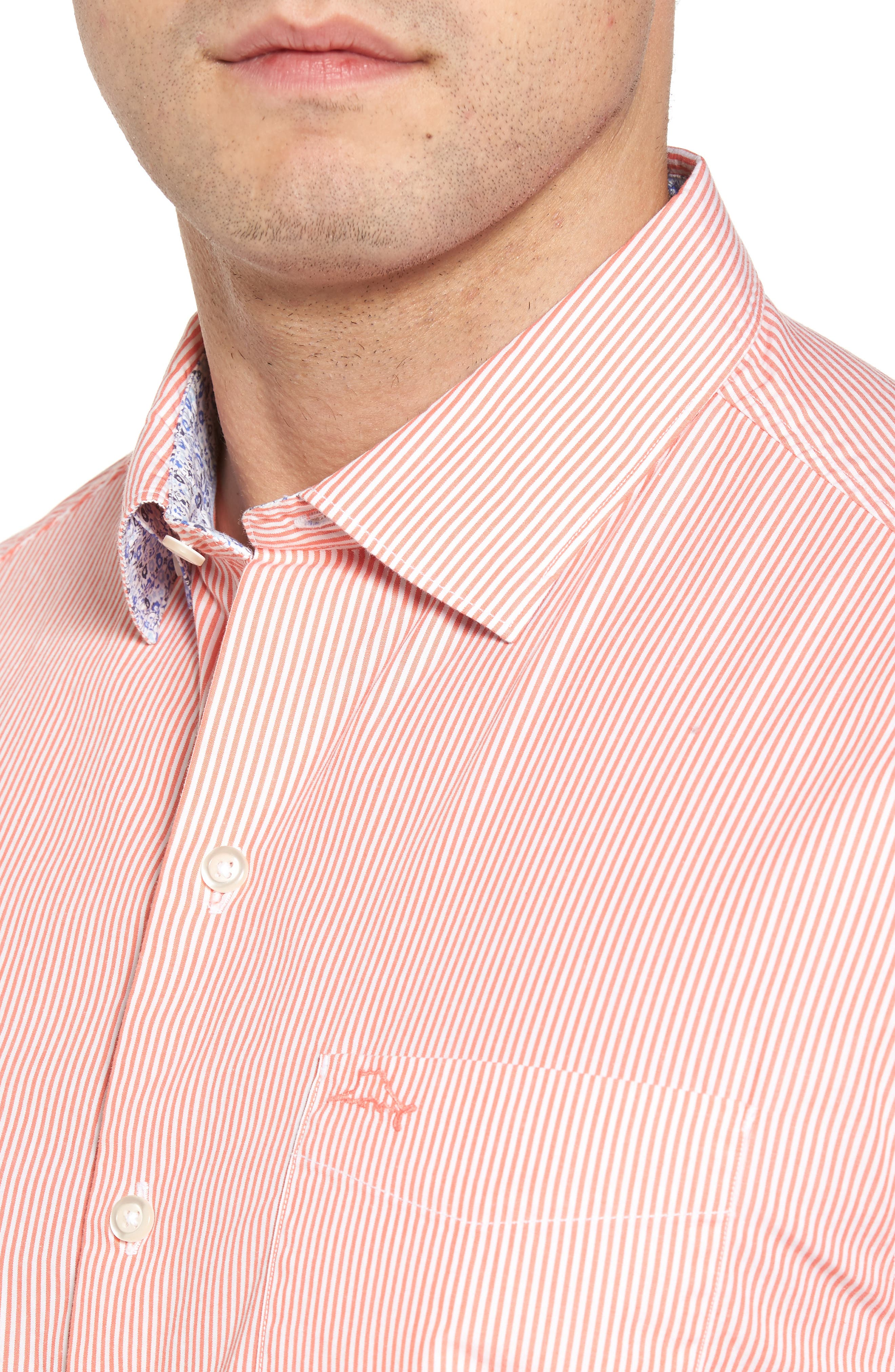 Fadeaway Beach Sport Shirt,                             Alternate thumbnail 4, color,                             950