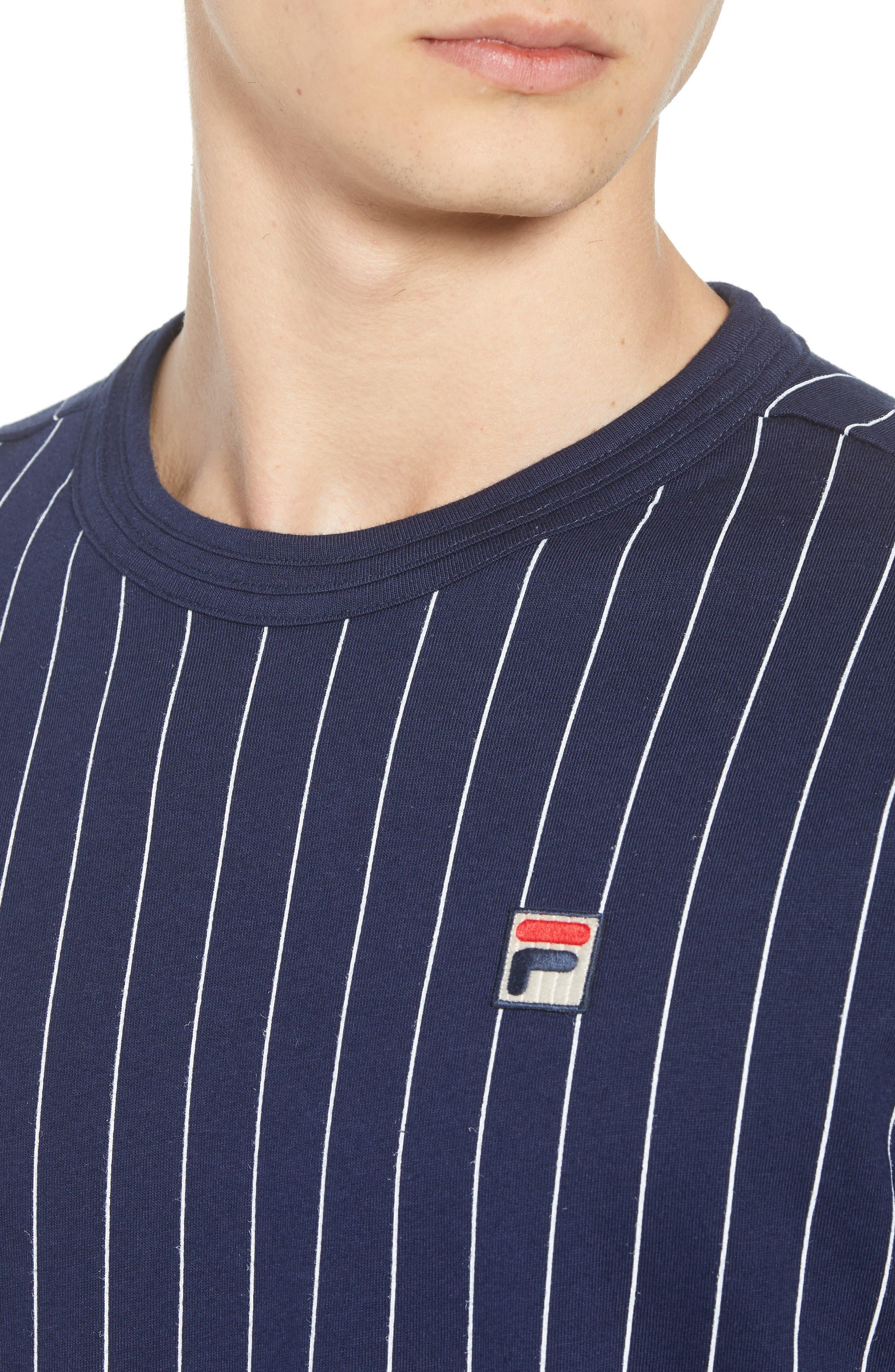Guilo T-Shirt,                             Alternate thumbnail 4, color,                             PEACOAT/ WHITE
