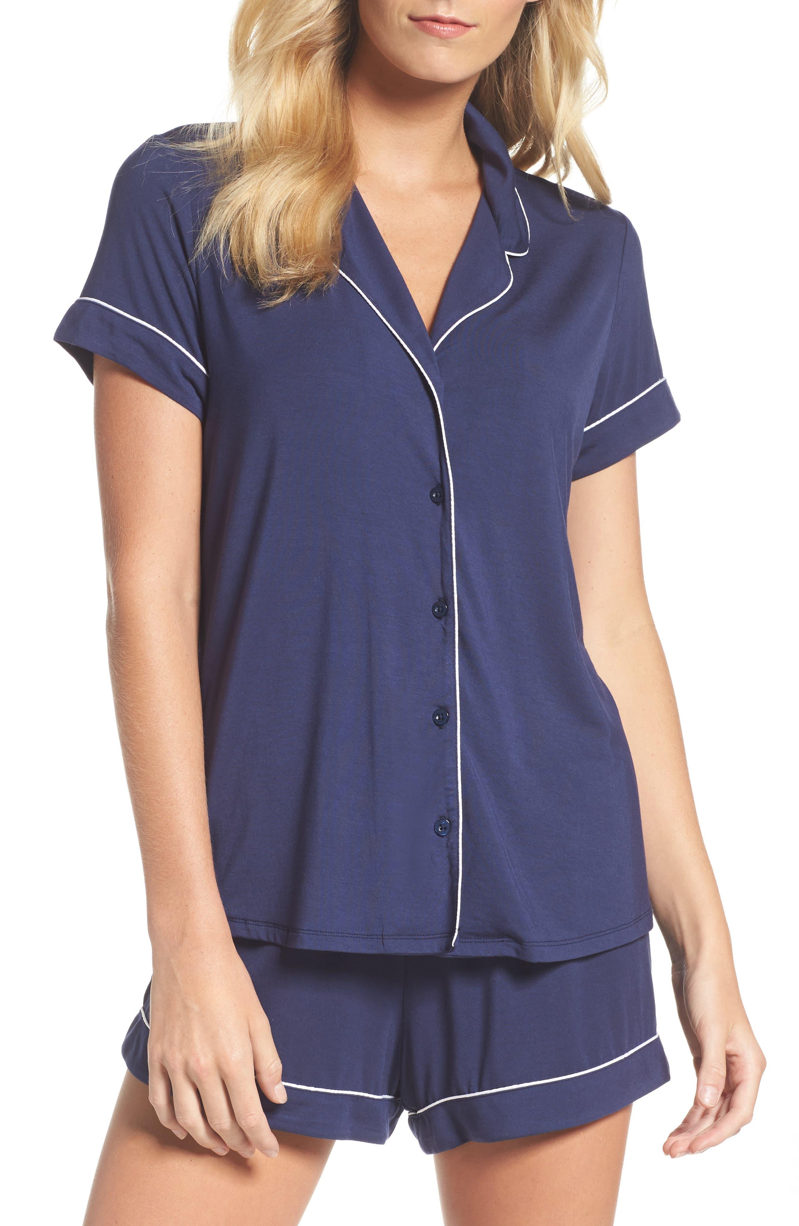 Nordstrom Lingerie Moonlight Short Pajamas, Blue