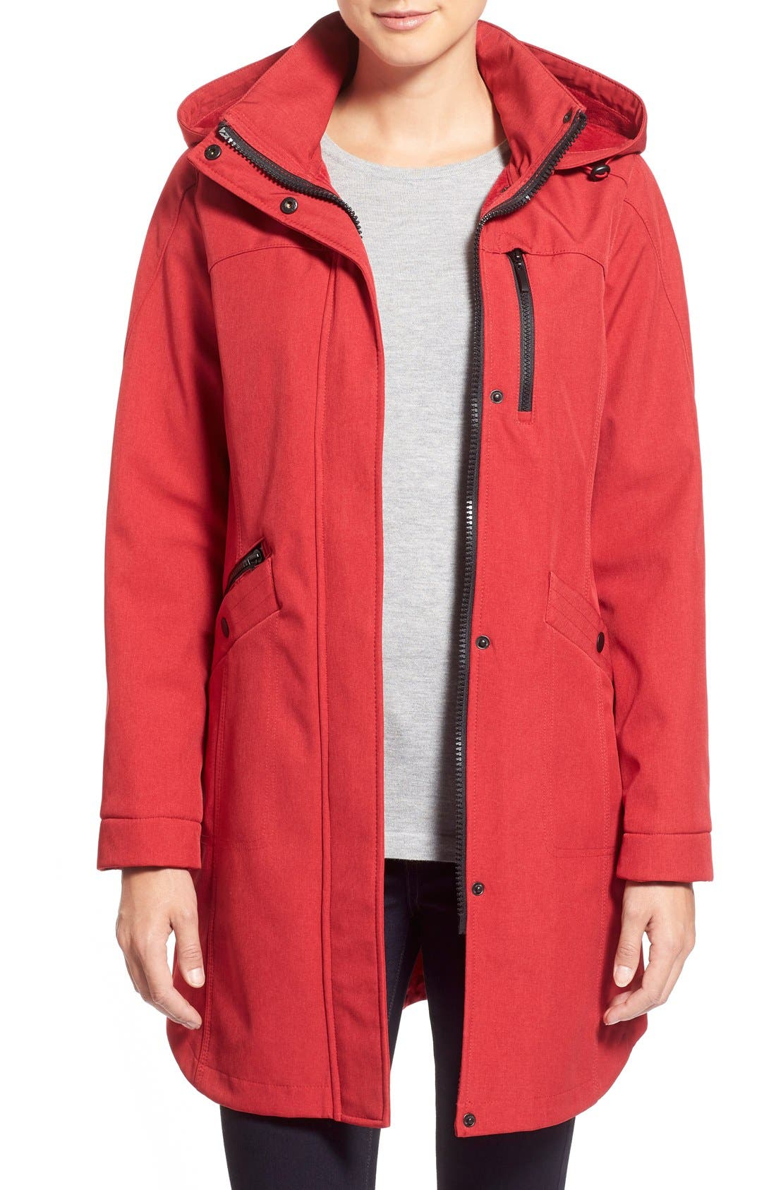 Crossdye Hooded Soft Shell Jacket,                             Main thumbnail 6, color,