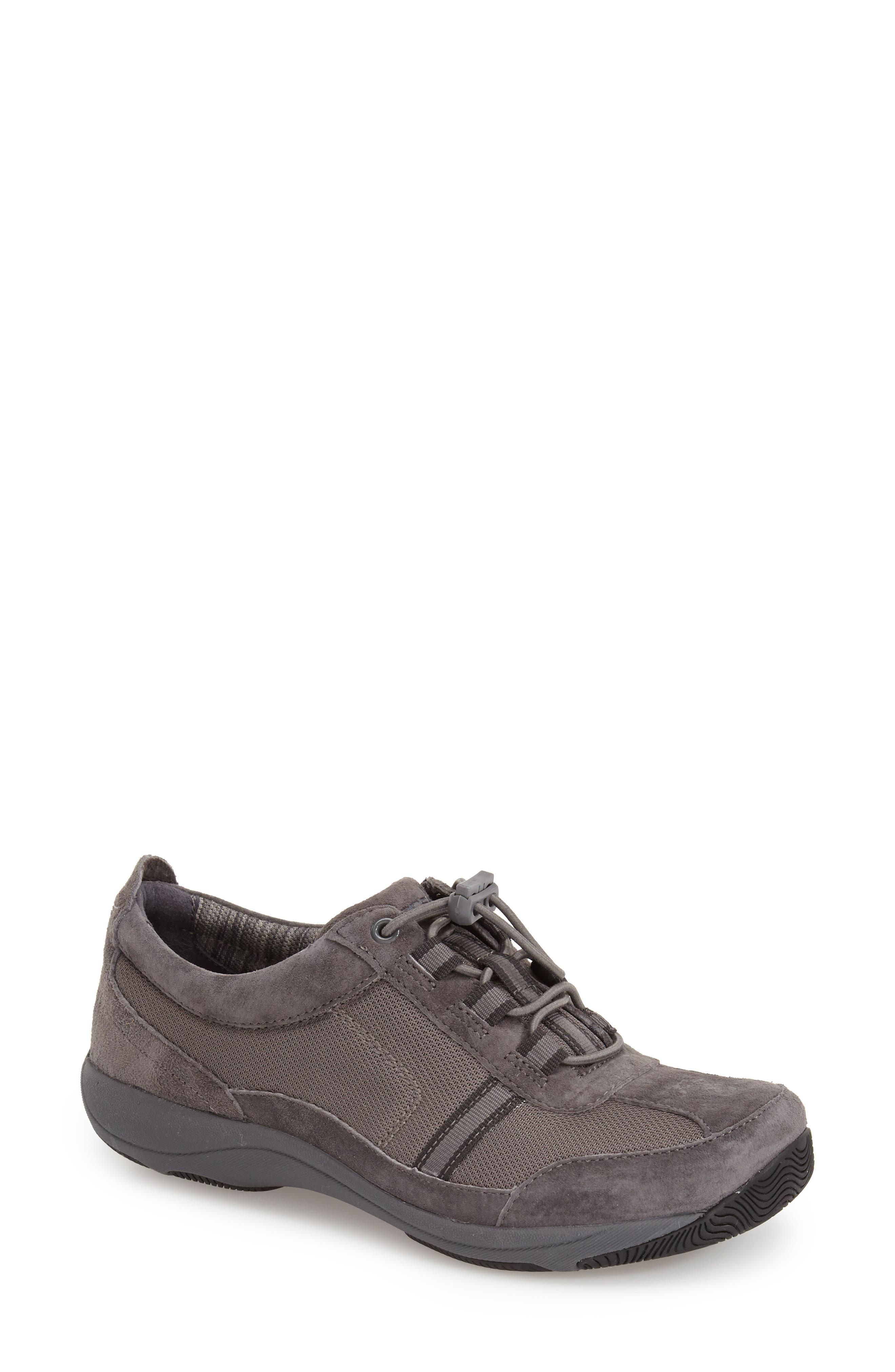 'Helen' Suede & Mesh Sneaker,                             Alternate thumbnail 21, color,