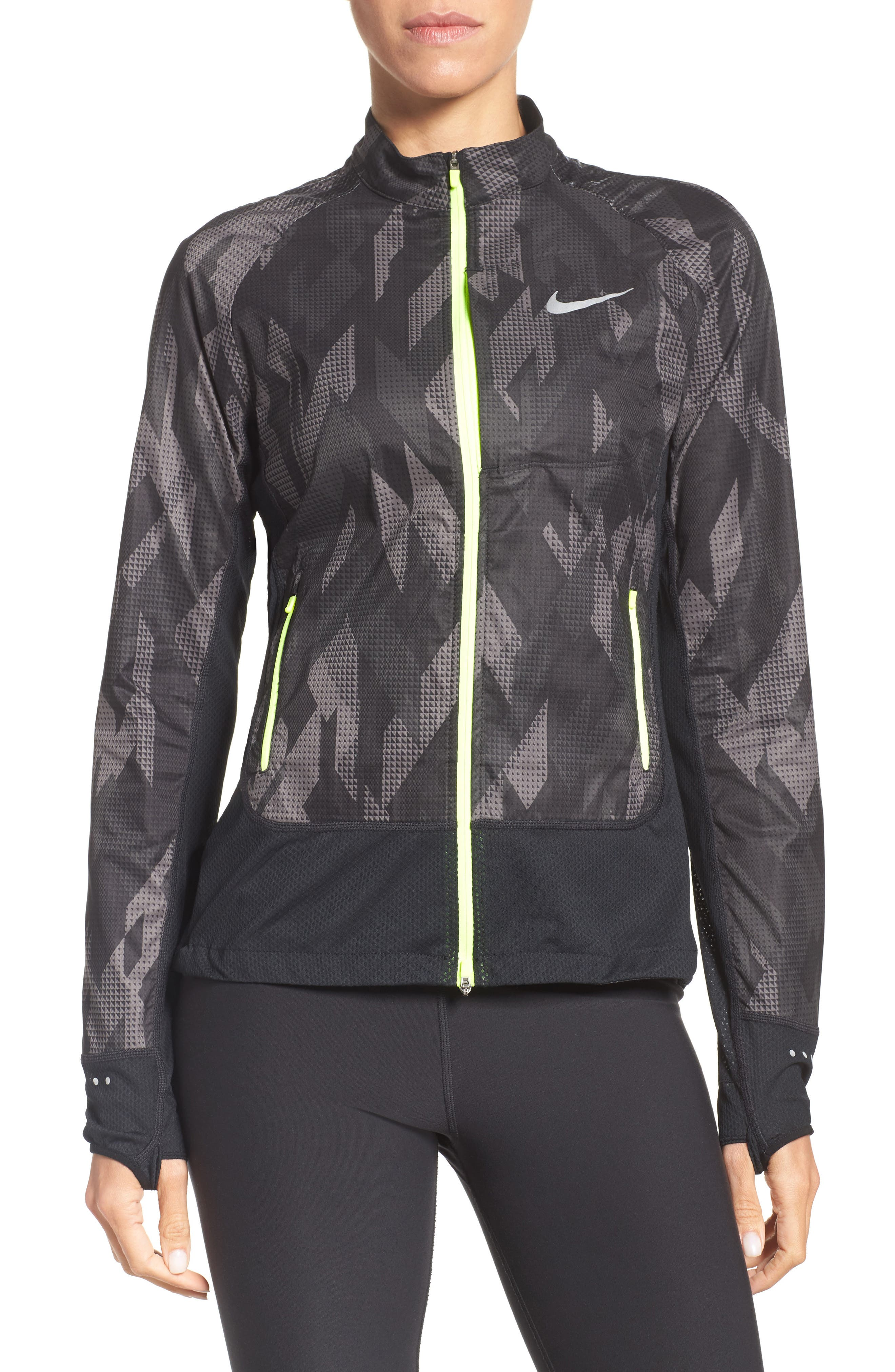 Flex Running Jacket,                         Main,                         color, 010
