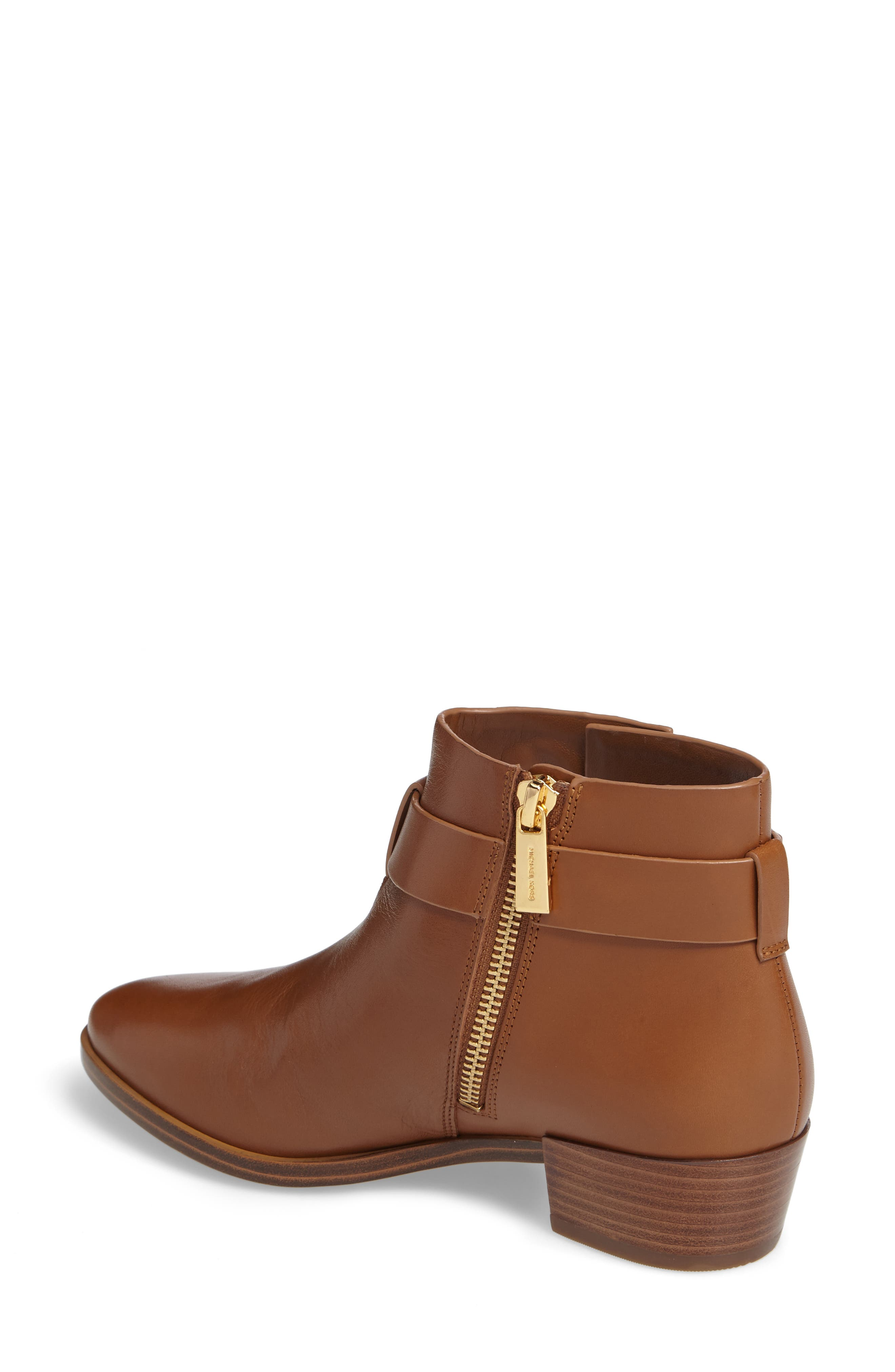Harland Logo Charm Bootie,                             Alternate thumbnail 4, color,