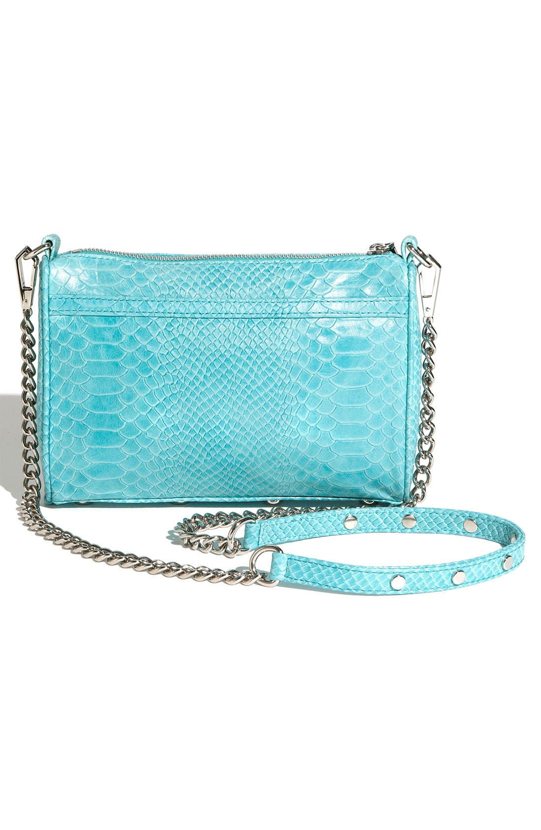 'Mini MAC' Croc Embossed Convertible Crossbody Bag,                             Alternate thumbnail 41, color,