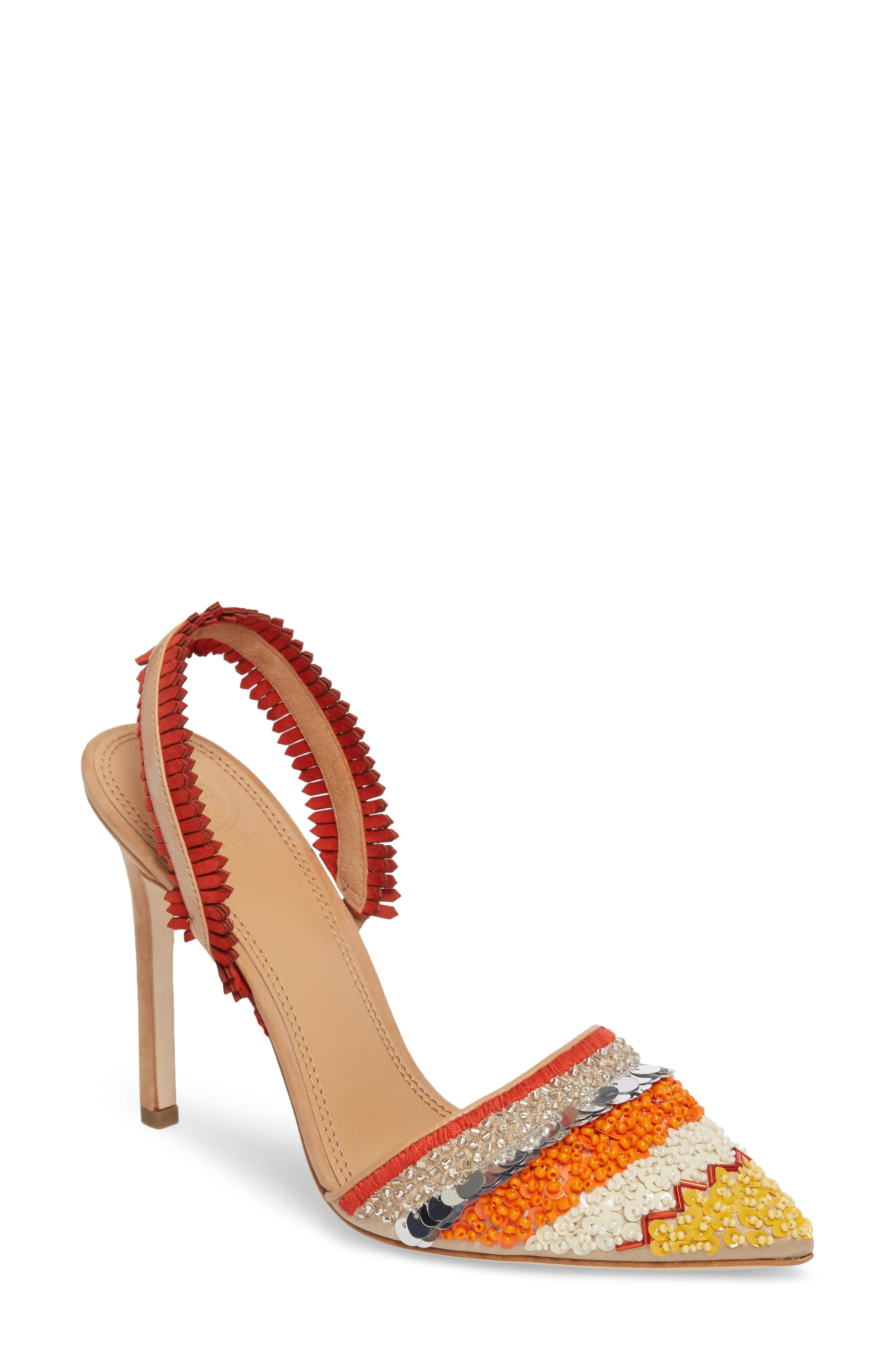 Isle Embellished Pointy Toe Pump,                             Main thumbnail 1, color,