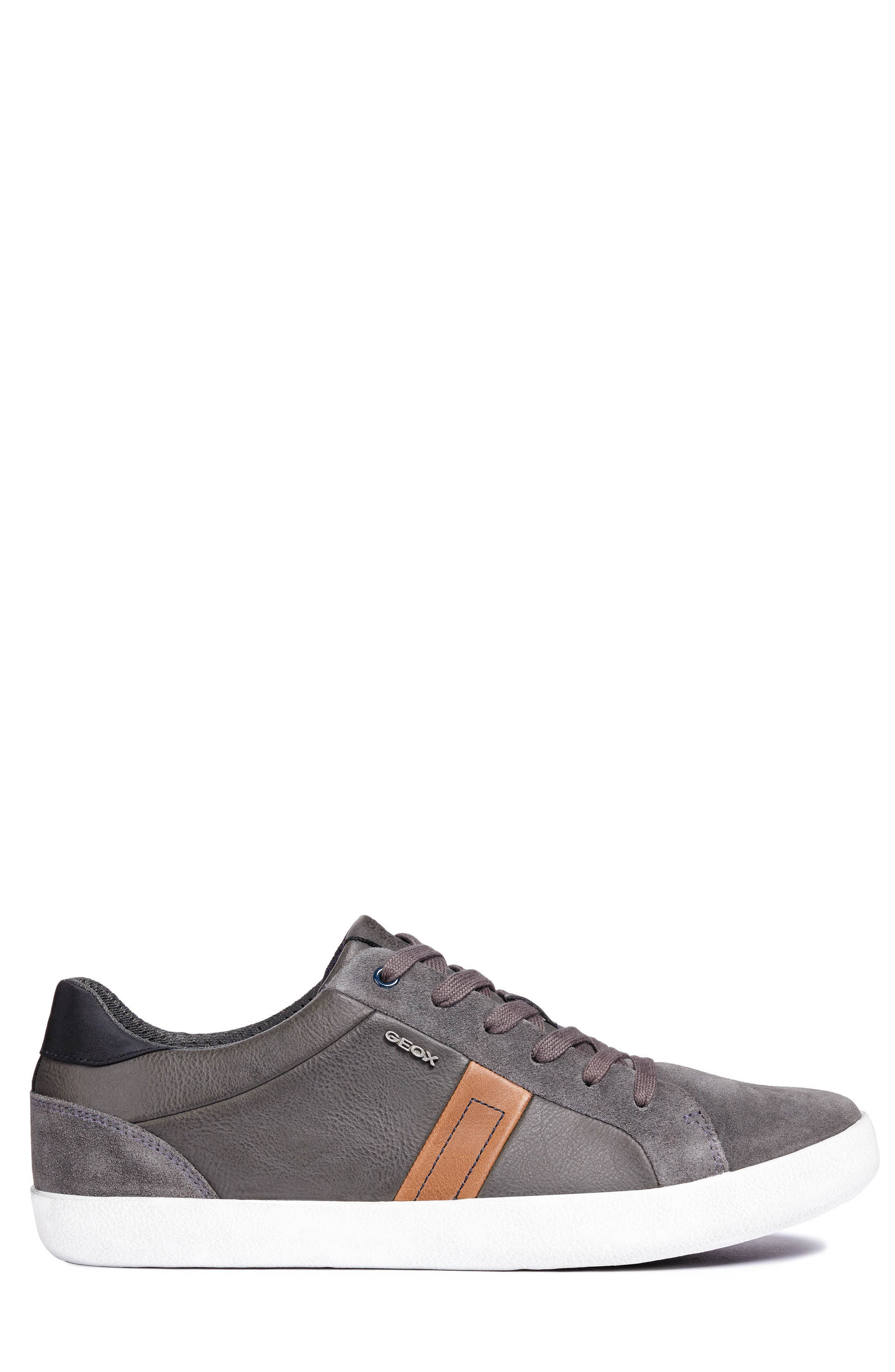 Box 40 Low Top Sneaker,                             Alternate thumbnail 3, color,                             ANTHRACITE LEATHER