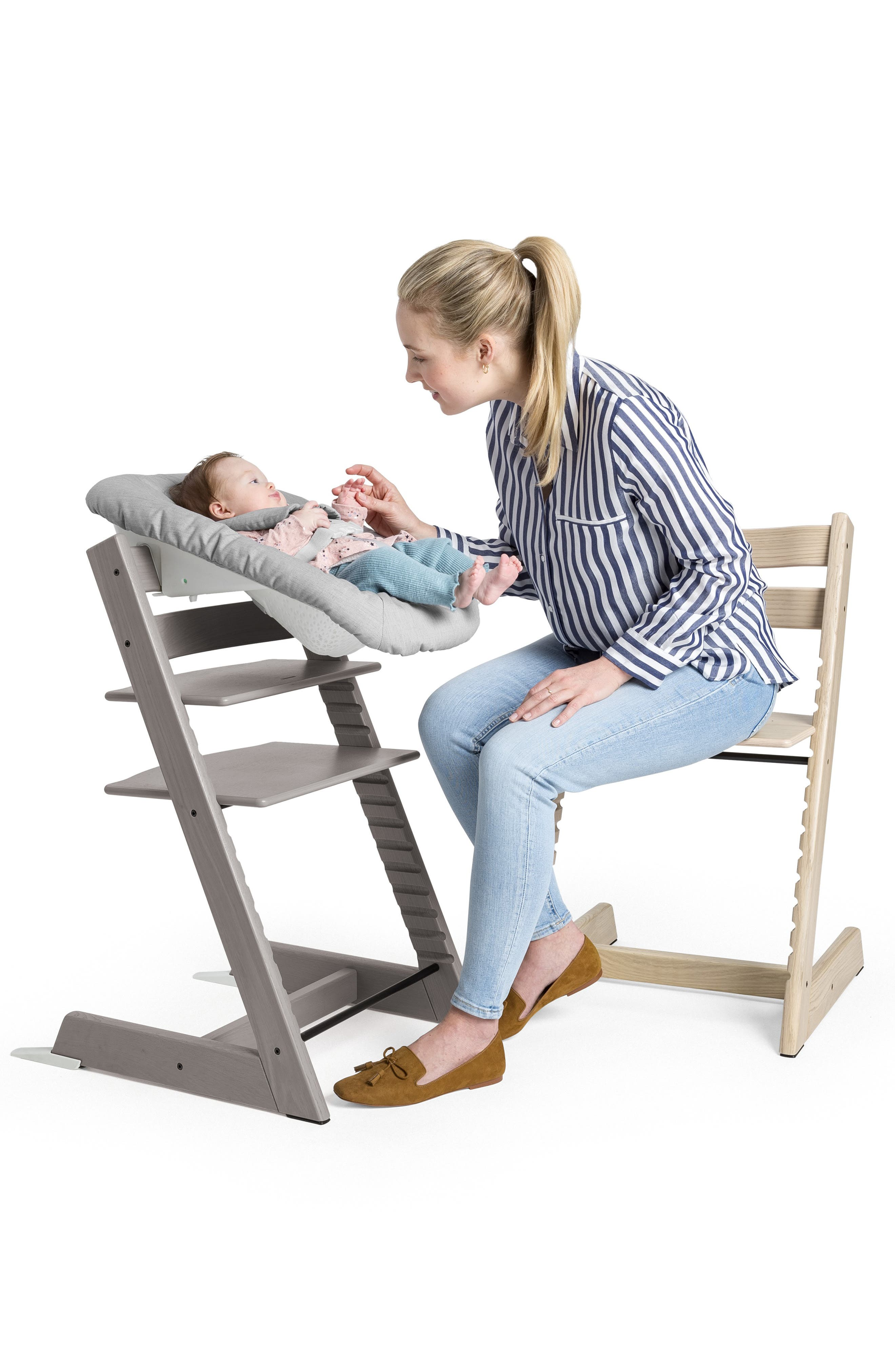 STOKKE,                              Tripp Trapp<sup>®</sup> Newborn Set,                             Alternate thumbnail 4, color,                             GREY