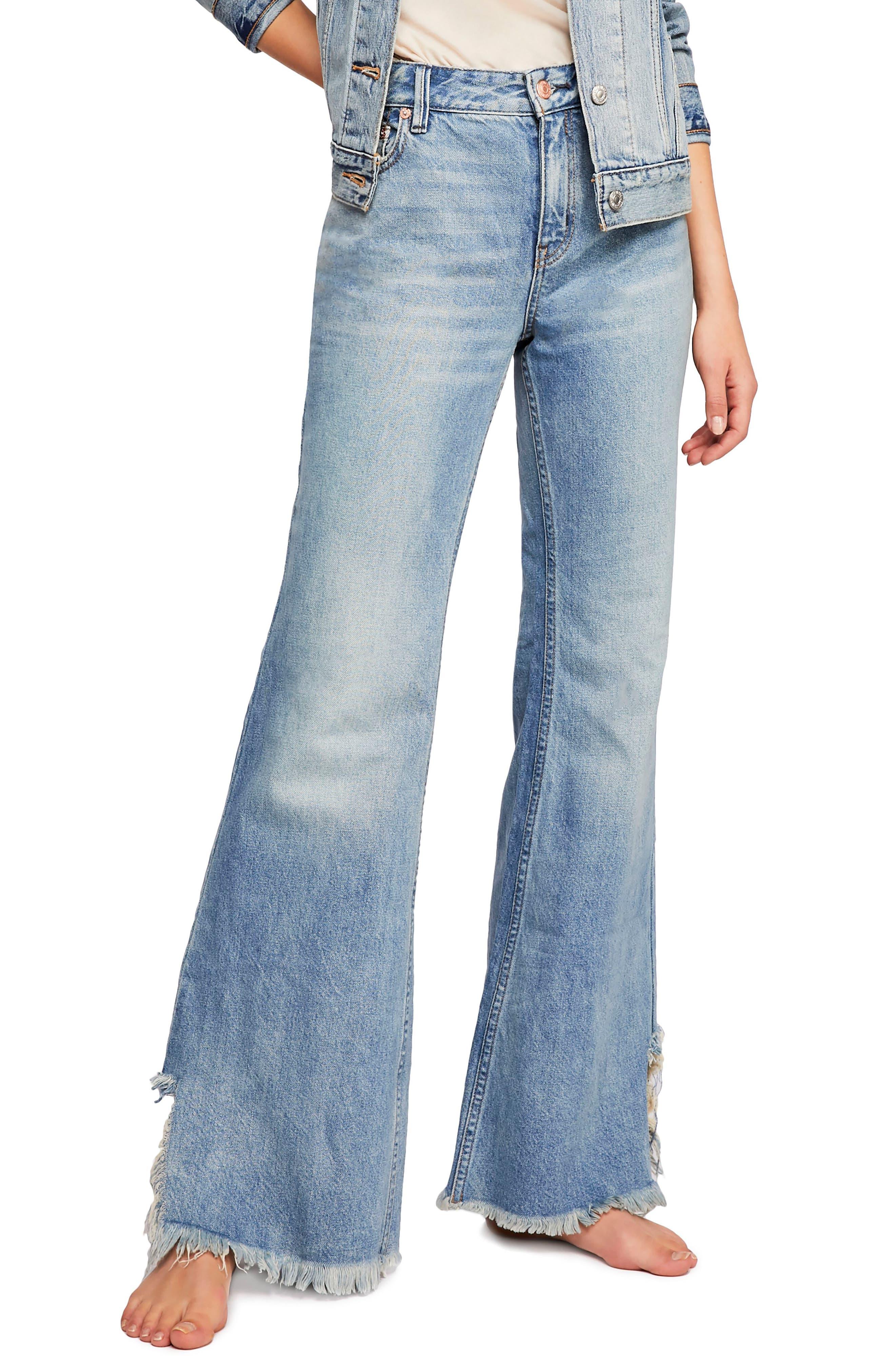 Vintage Flare Jeans,                             Main thumbnail 1, color,                             400