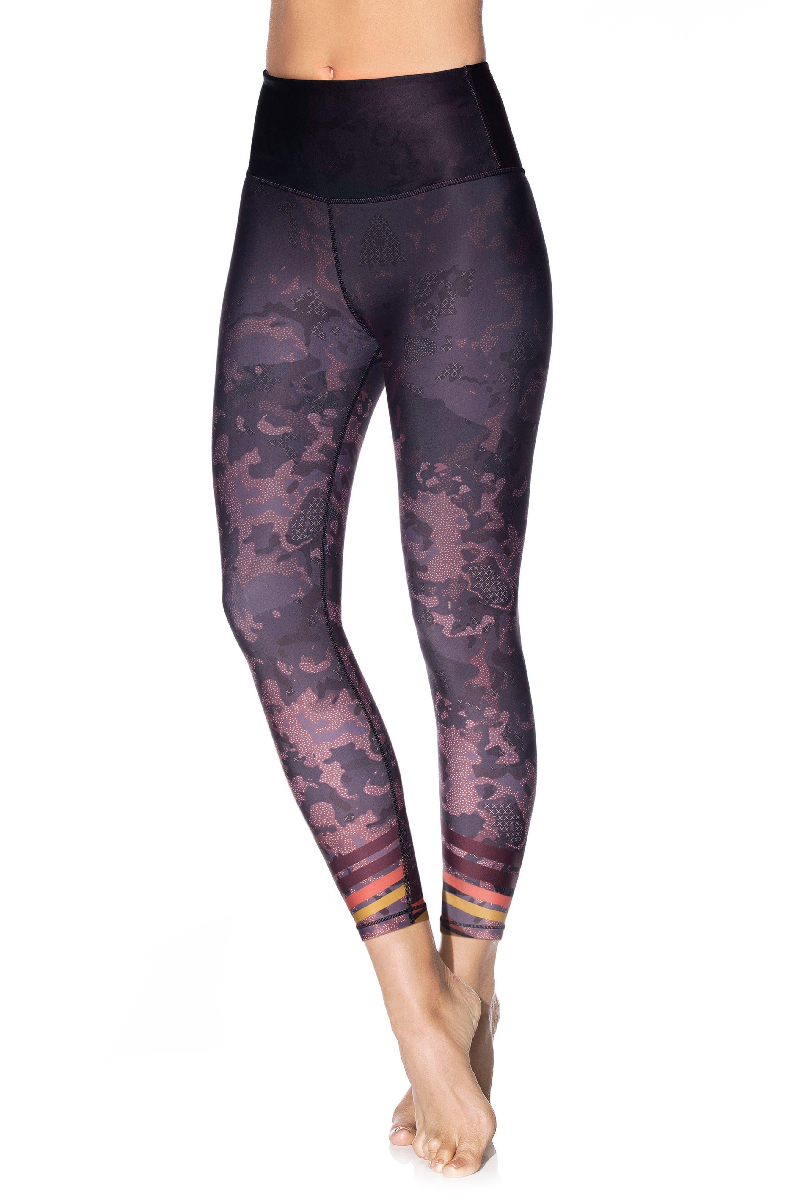 Print Leggings,                         Main,                         color, 650