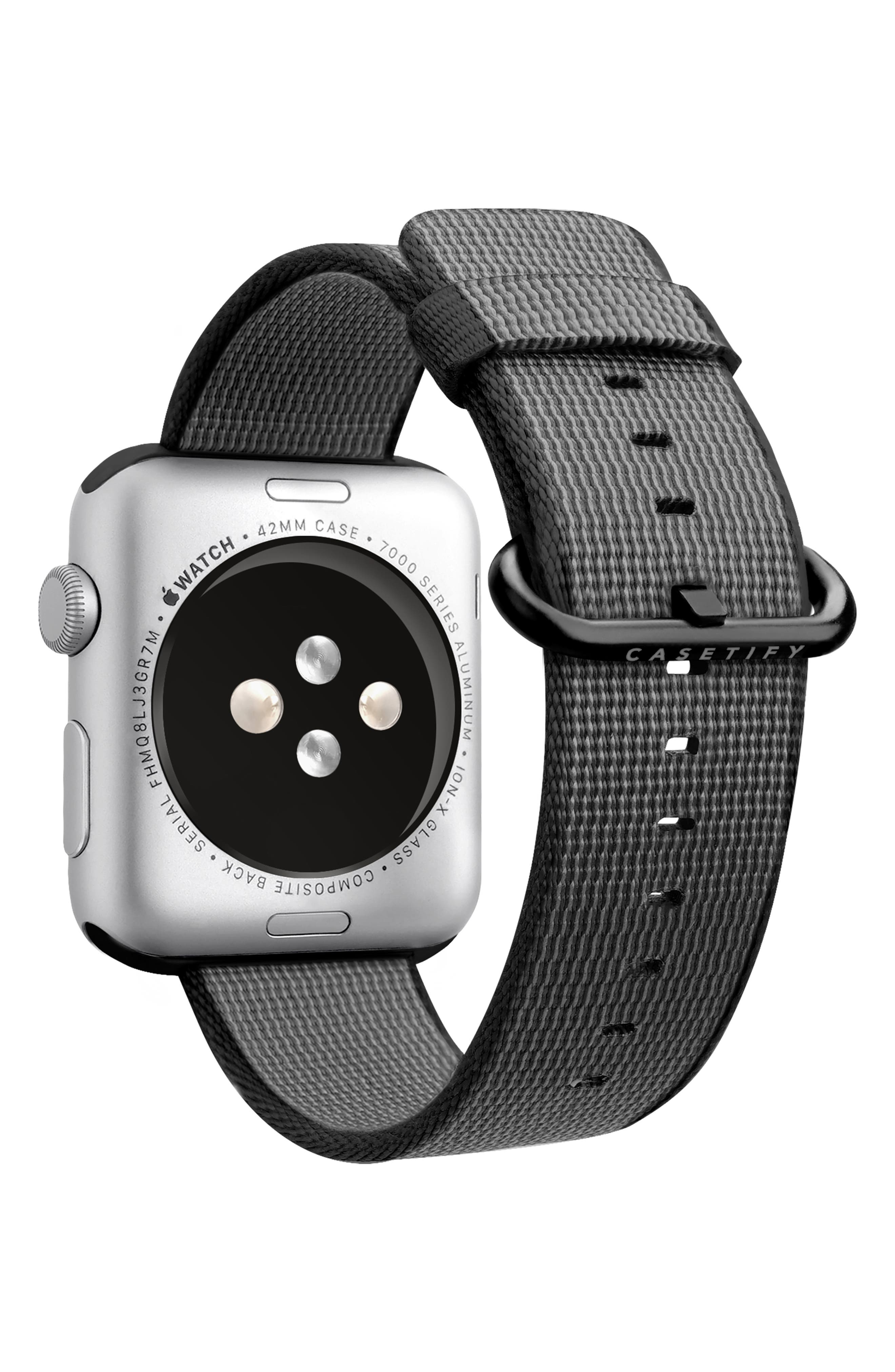 CASETIFY,                             Nylon Apple Watch Strap,                             Alternate thumbnail 2, color,                             020