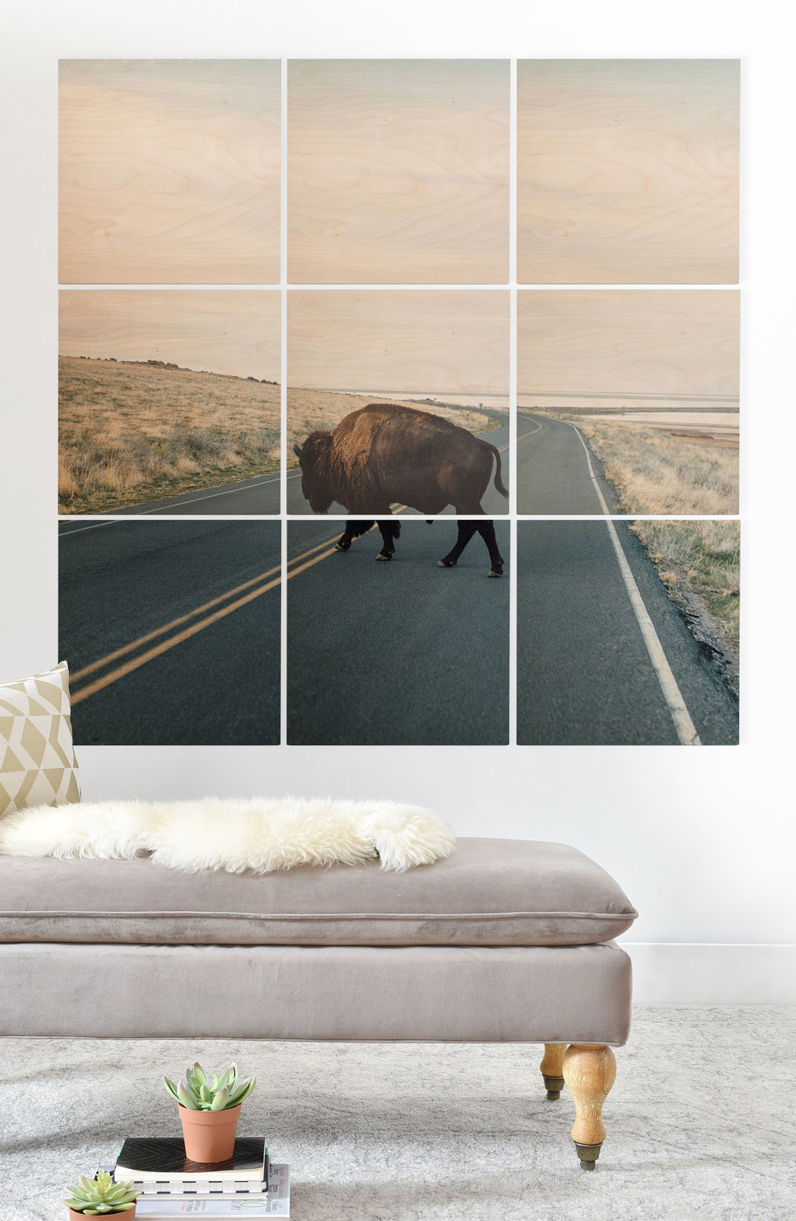 9-Piece Wood Wall Mural,                             Alternate thumbnail 3, color,                             250