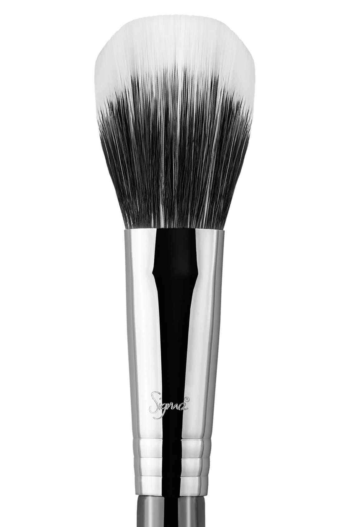 F15 Duo Fibre Powder/Blush Brush,                             Alternate thumbnail 2, color,                             NO COLOR