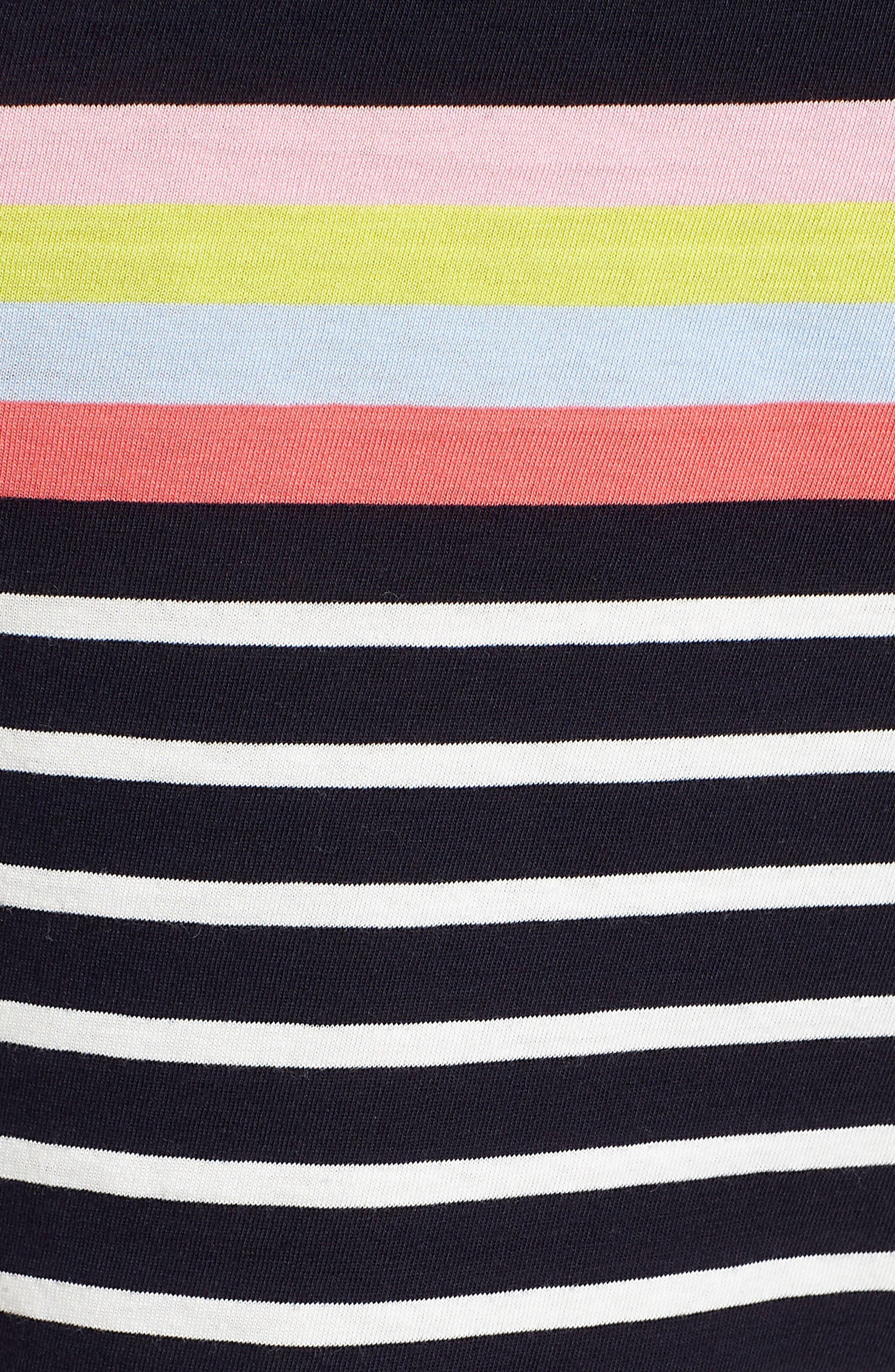 Breton Short Sleeve Stripe Cotton Top,                             Alternate thumbnail 22, color,