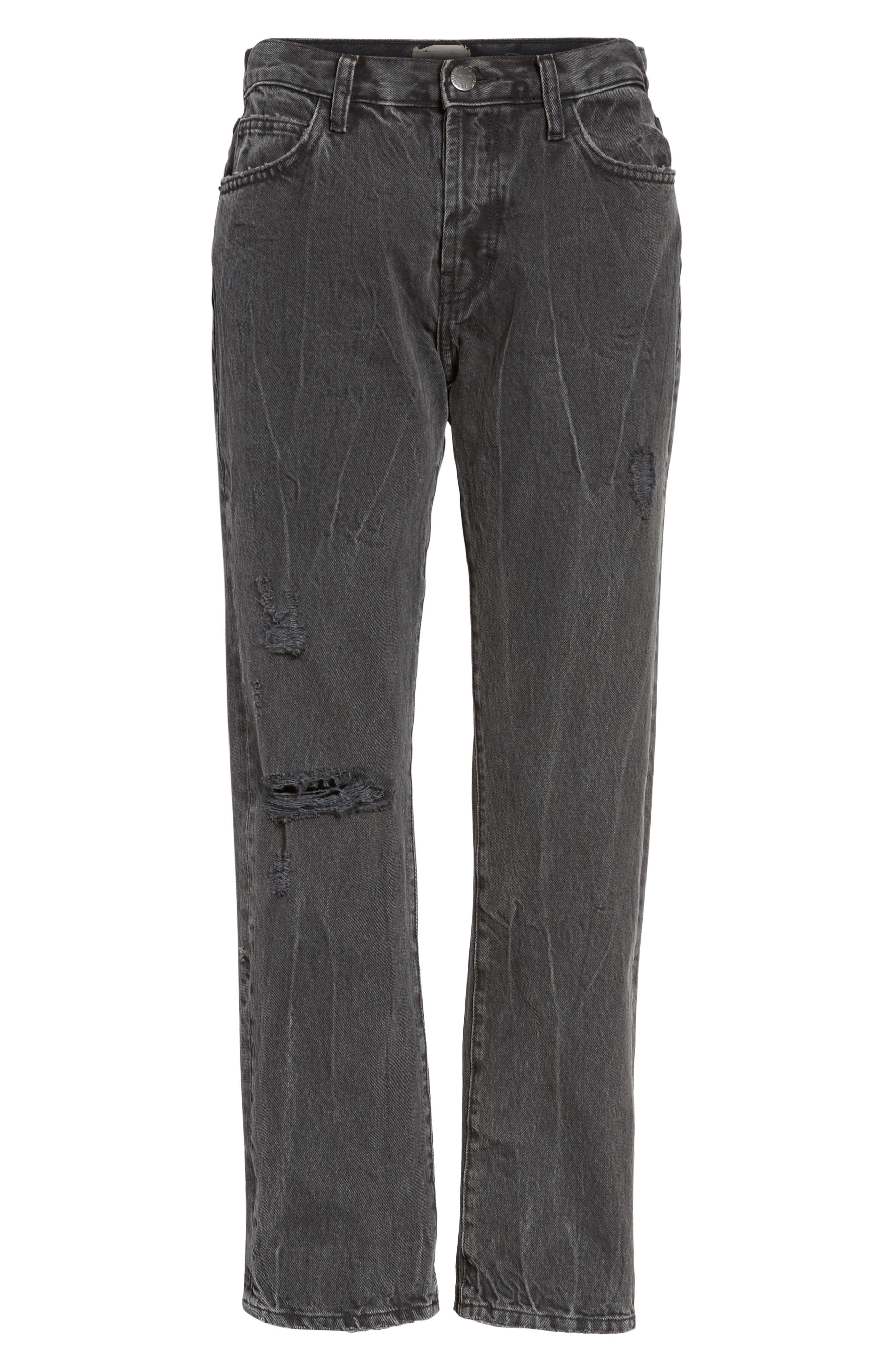 The Original Straight Leg Crop Jeans,                             Alternate thumbnail 6, color,
