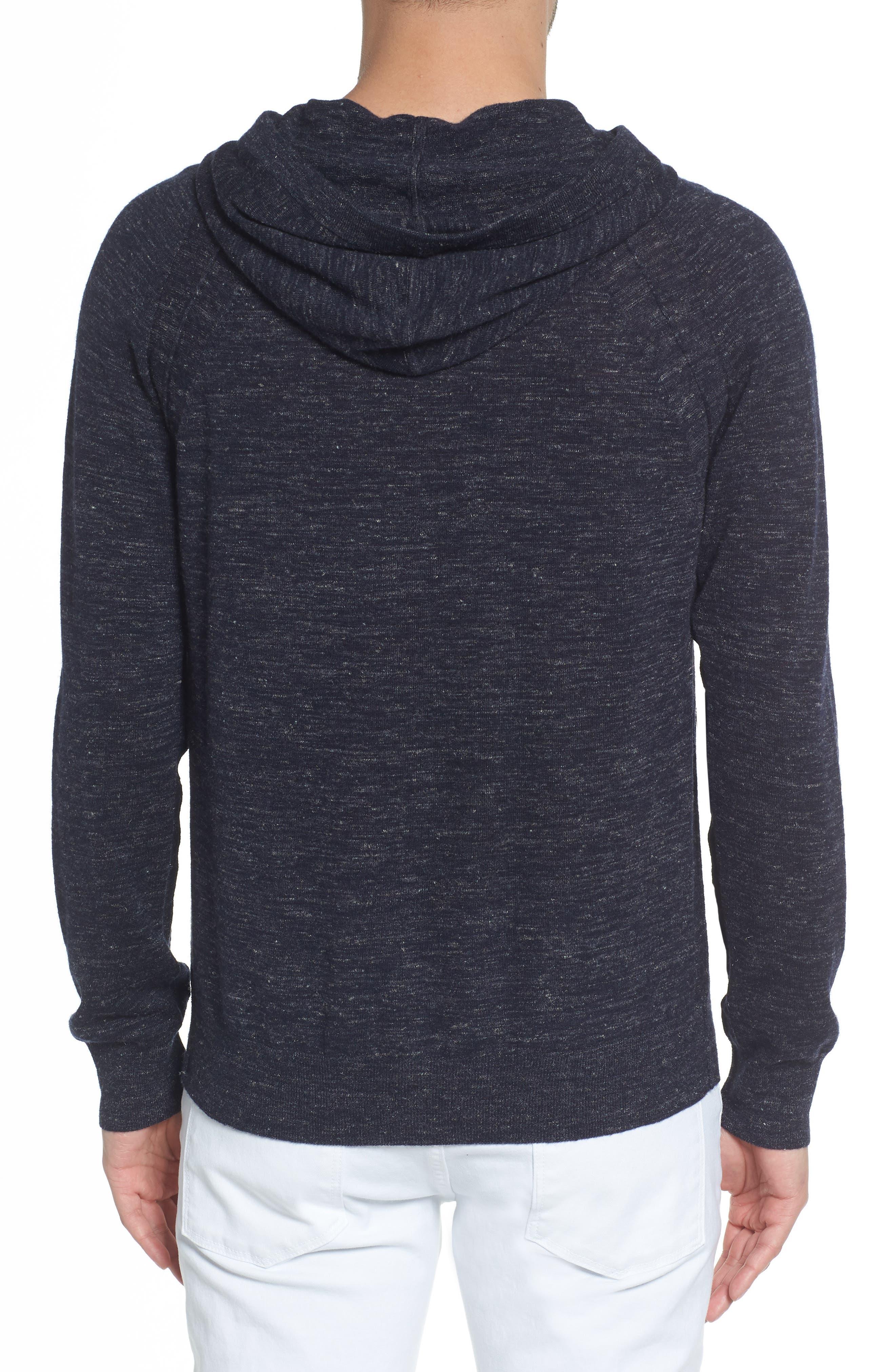 Long Sleeve Pullover Hoodie,                             Alternate thumbnail 2, color,                             NEW COASTAL