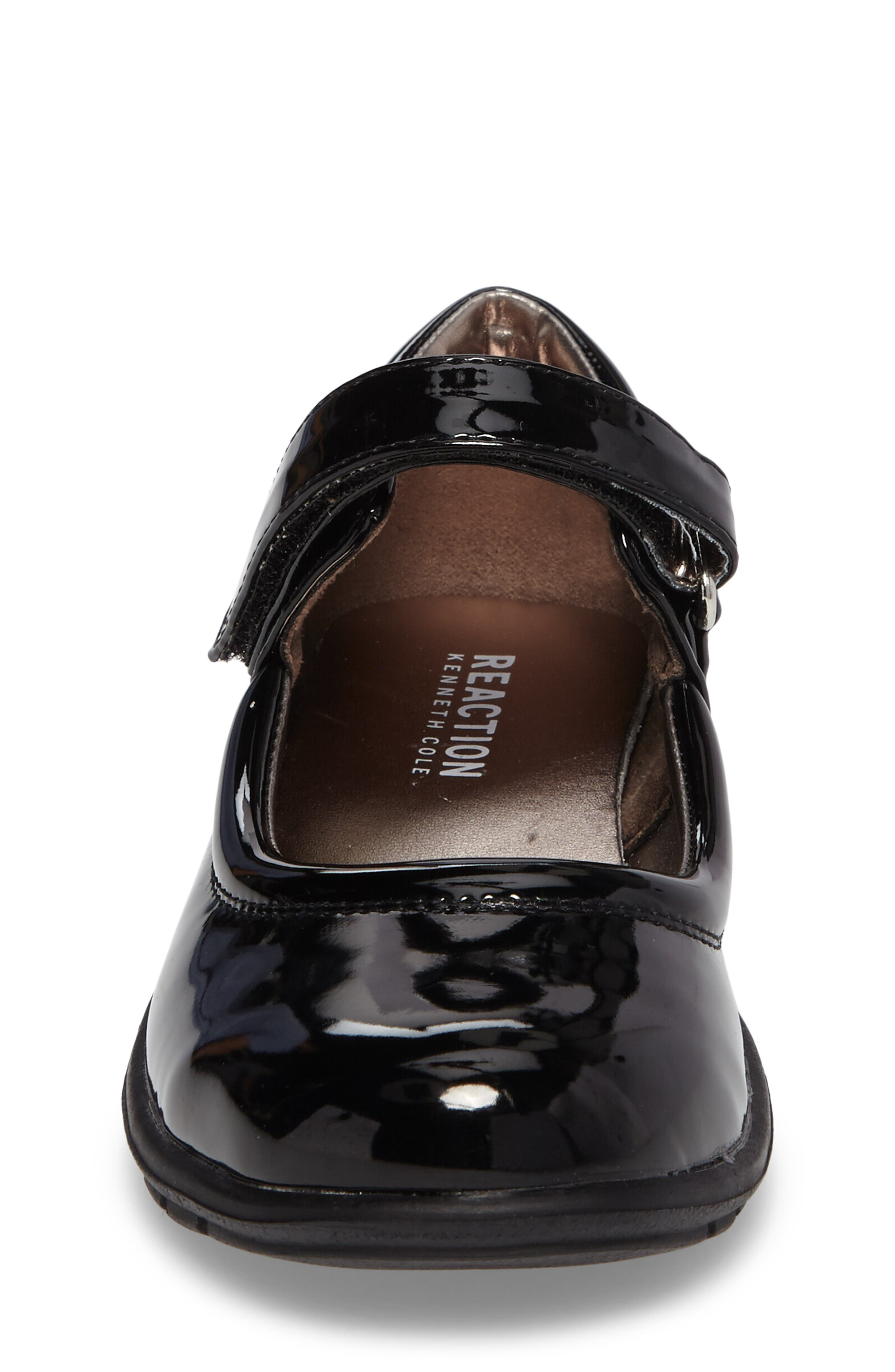 Dolly School Mary Jane,                             Alternate thumbnail 4, color,                             BLACK FAUX PATENT