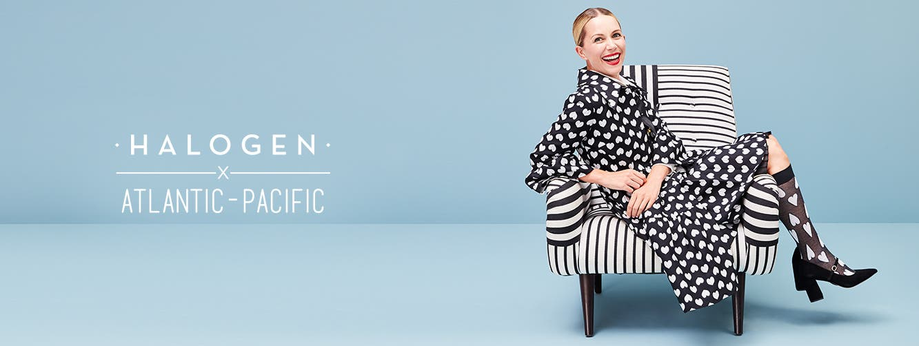 Halogen x Atlantic-Pacific is back: women's fall collection.
