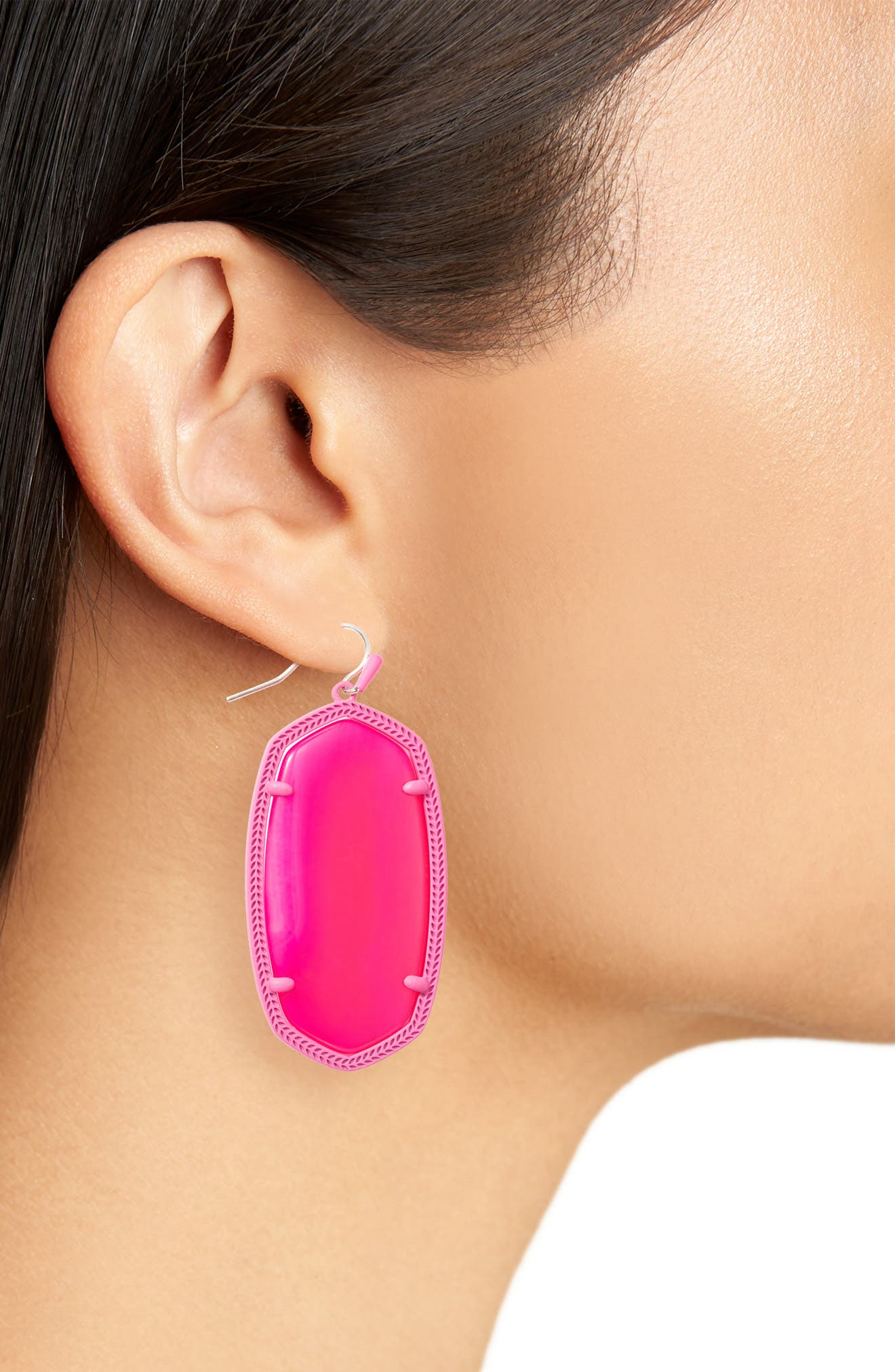 Danielle - Large Oval Statement Earrings,                             Alternate thumbnail 121, color,