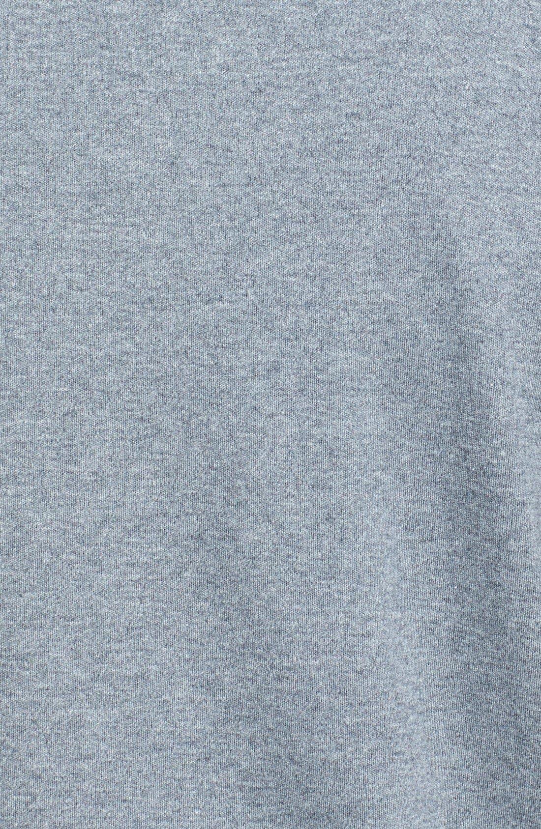 Regular Fit Interlock Knit Polo,                             Alternate thumbnail 3, color,                             GREY CLOUDY HEATHER