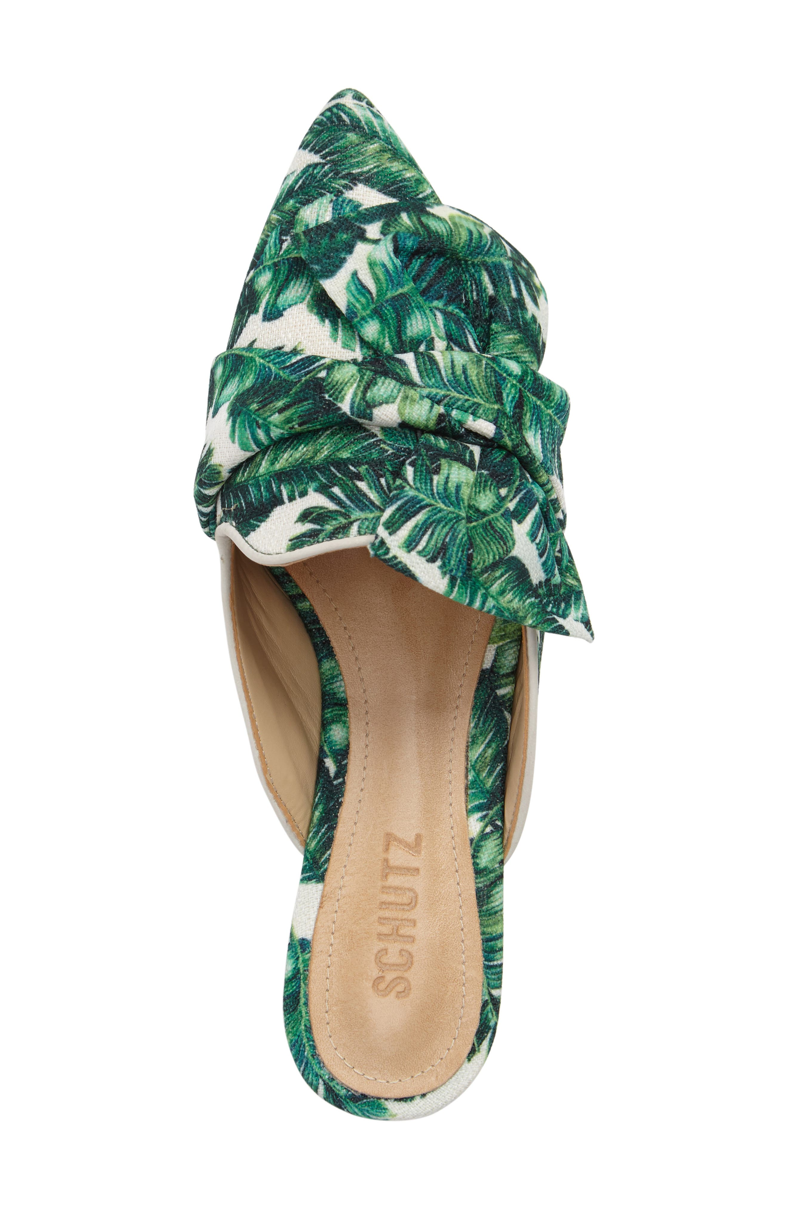SCHUTZ,                             D'Ana Knotted Loafer Mule,                             Alternate thumbnail 5, color,                             100