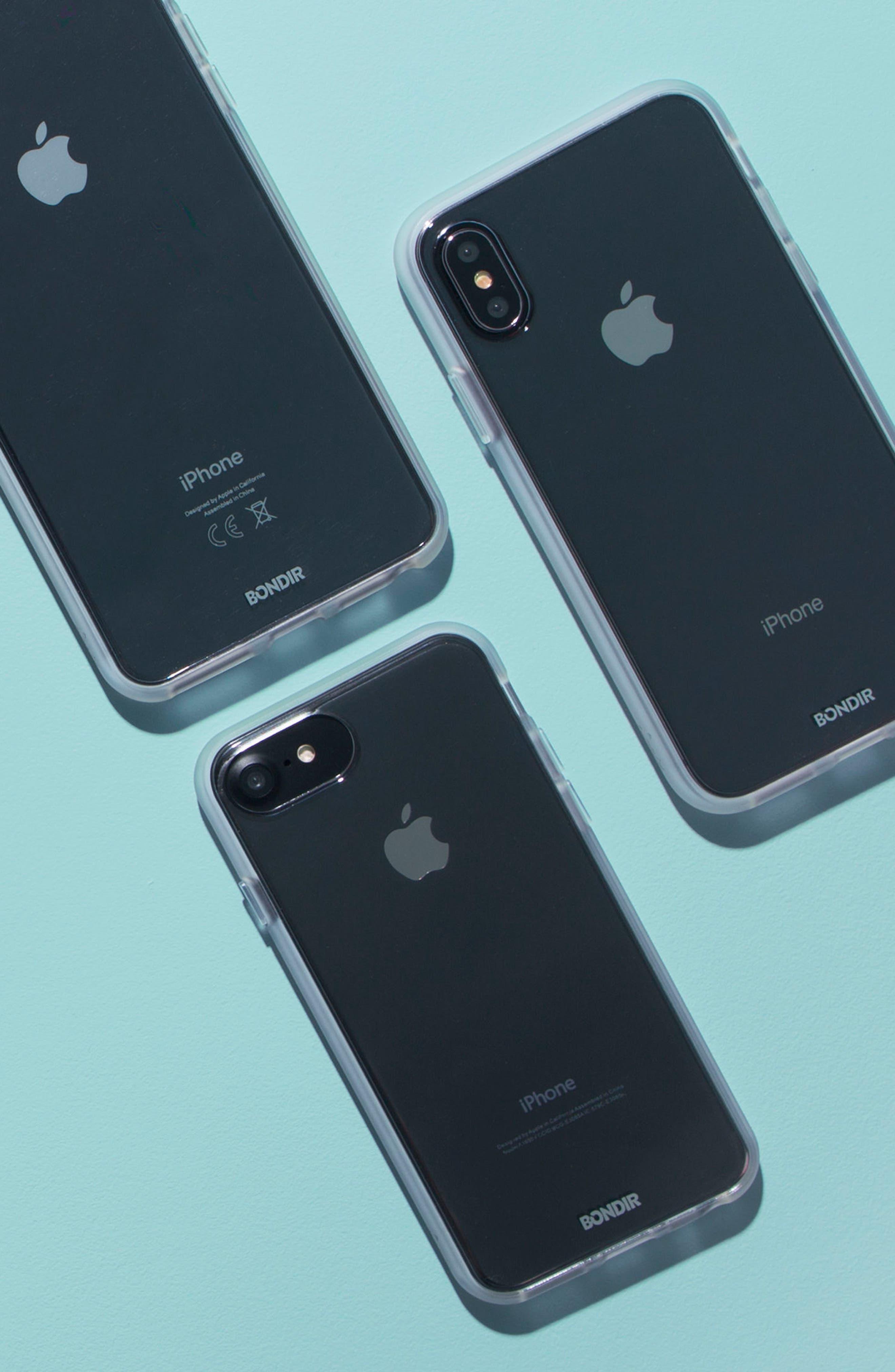 BONDIR,                             Clear iPhone 6/6s/7/8 & 6/6s/7/8 Plus Case,                             Alternate thumbnail 4, color,                             100