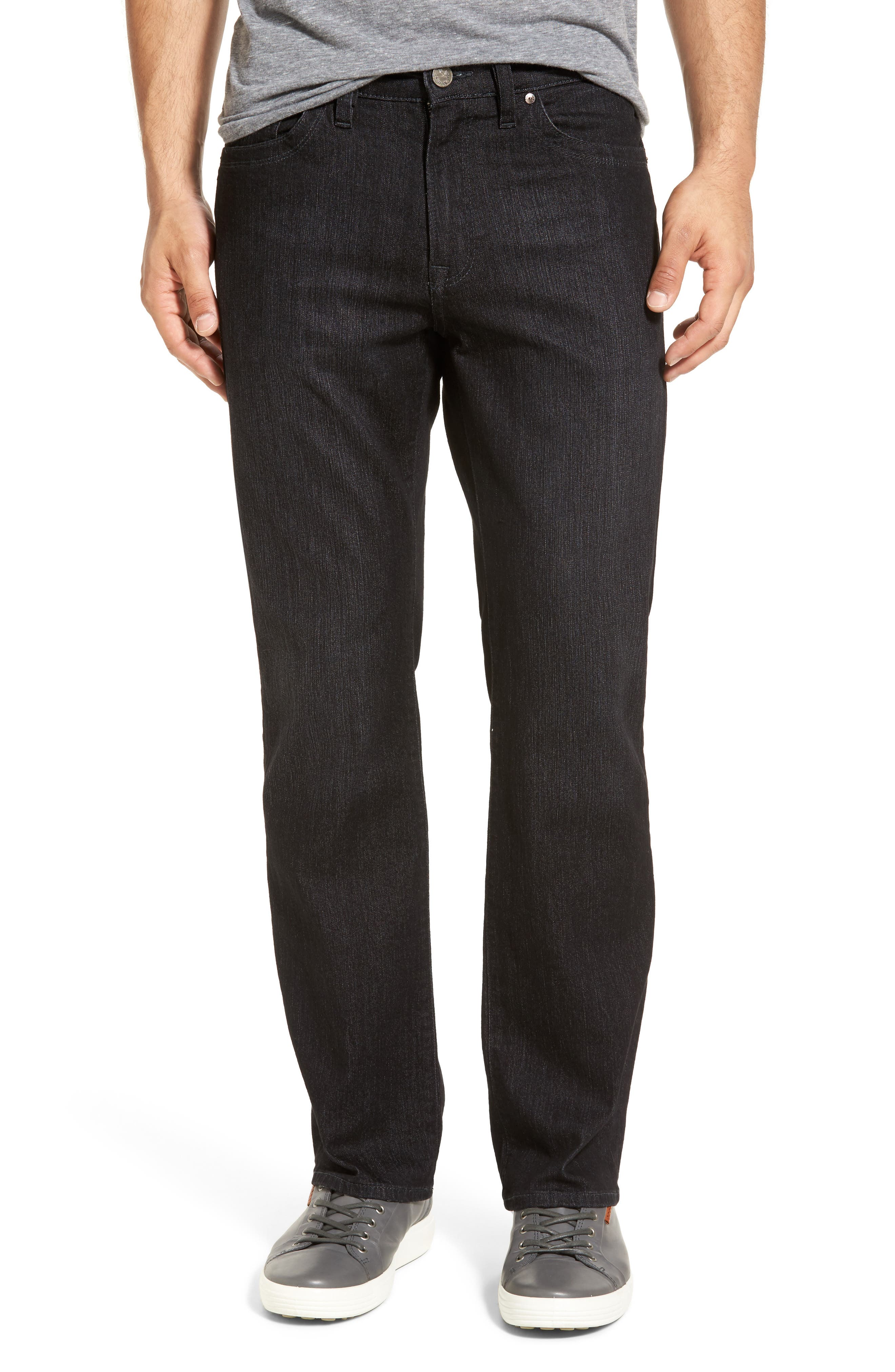 34 HERITAGE,                             'Charisma' Classic Relaxed Fit,                             Main thumbnail 1, color,                             CHARCOAL